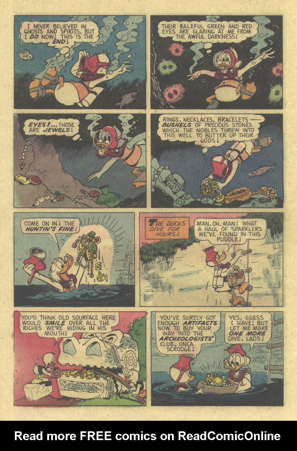 Read online Uncle Scrooge (1953) comic -  Issue #113 - 16