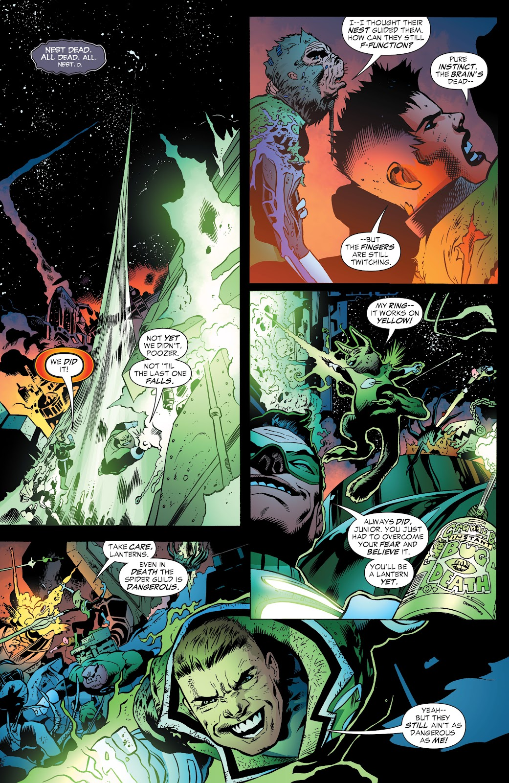 Read online Green Lantern by Geoff Johns comic -  Issue # TPB 1 (Part 3) - 89