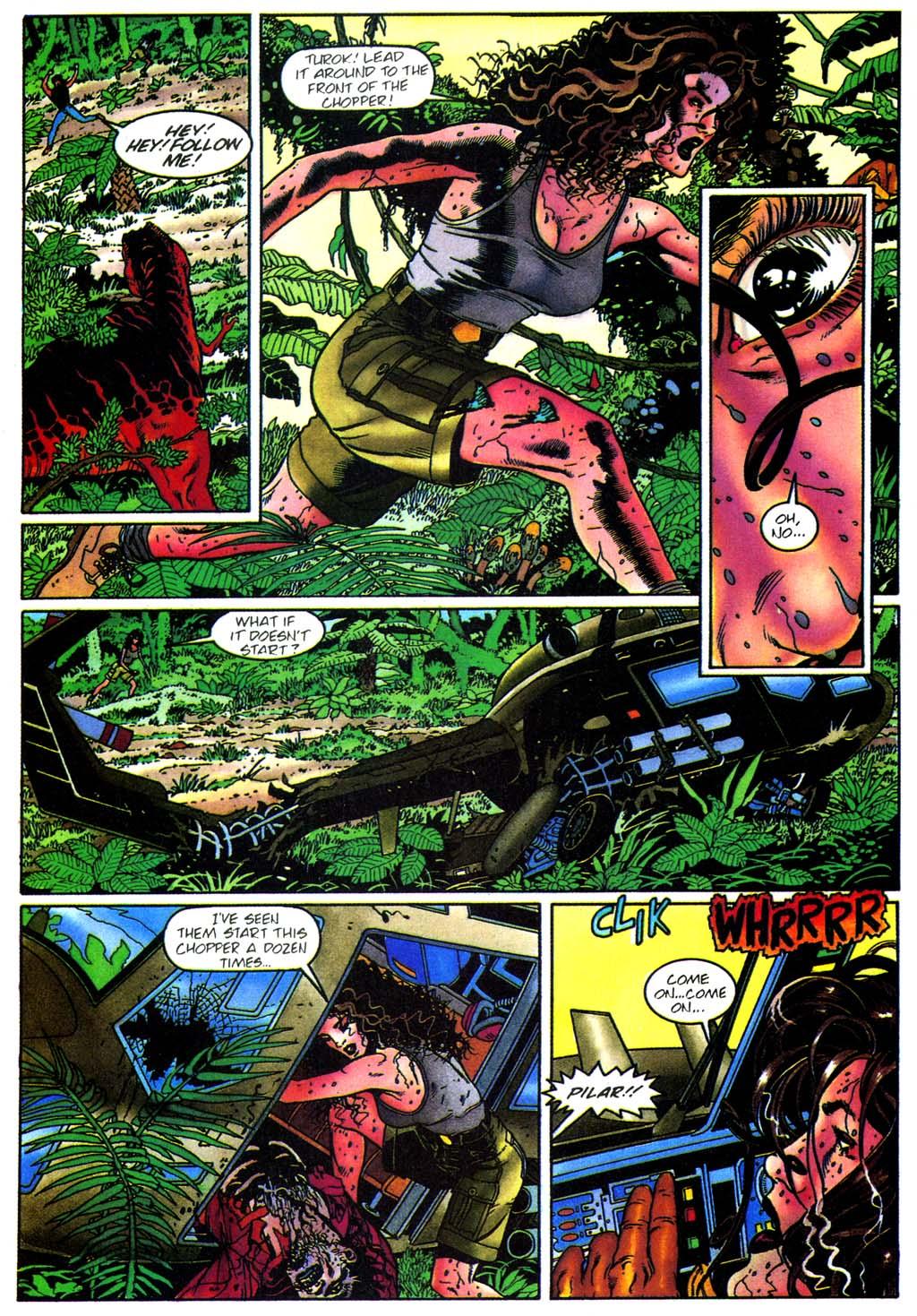 Read online Turok, Dinosaur Hunter (1993) comic -  Issue #28 - 19