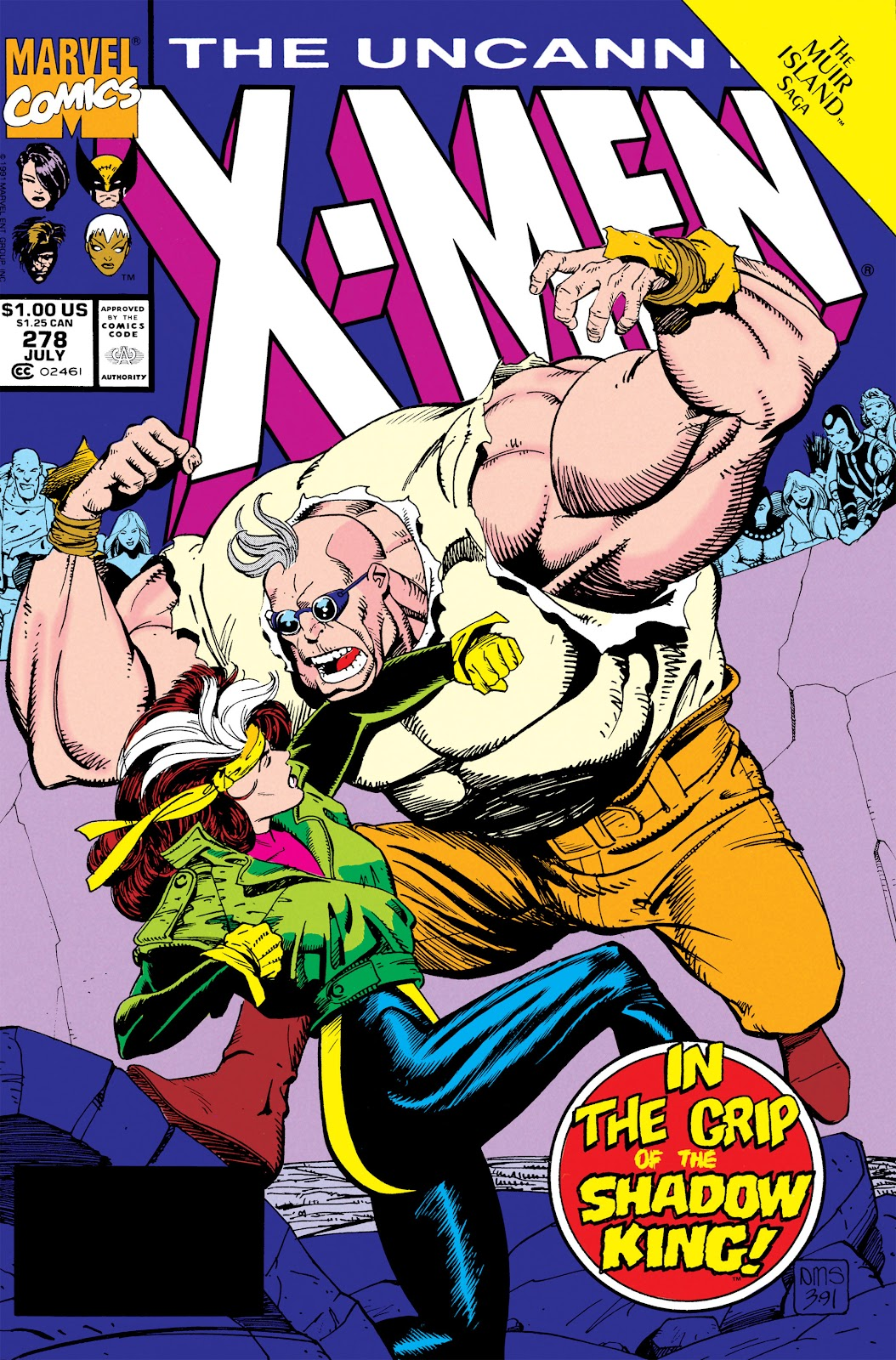 Uncanny X-Men (1963) issue 278 - Page 1