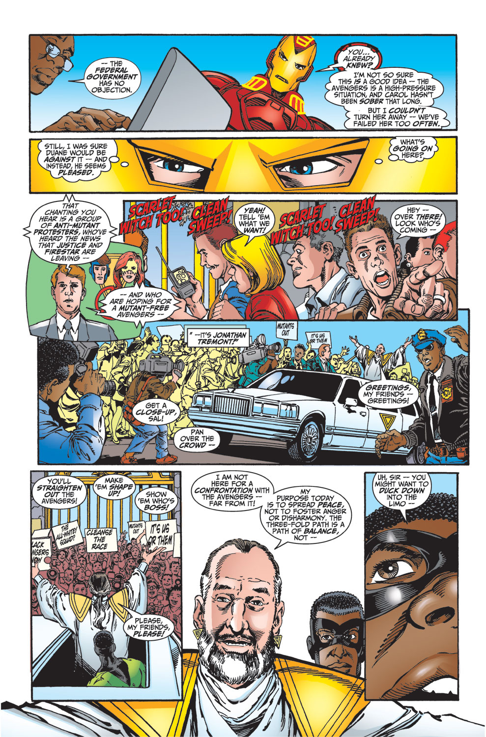 Read online Avengers (1998) comic -  Issue #27 - 13