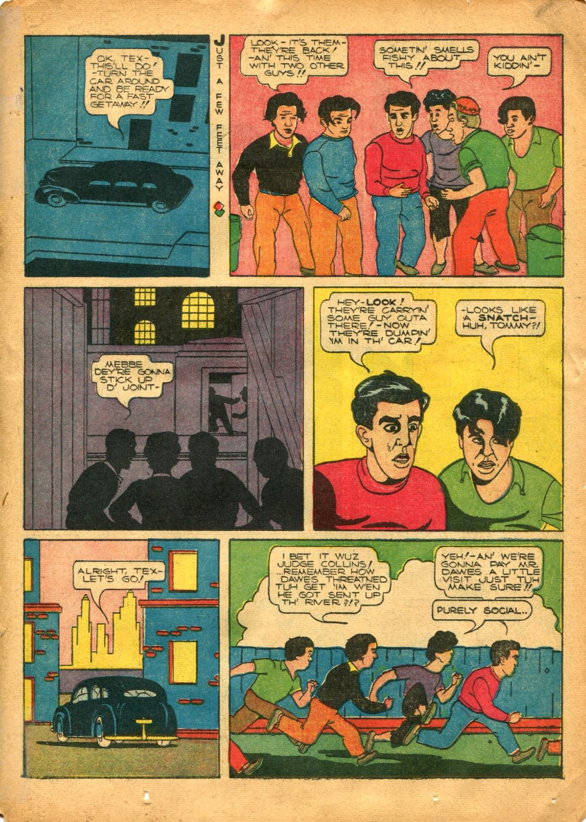 Read online Shadow Comics comic -  Issue #12 - 35