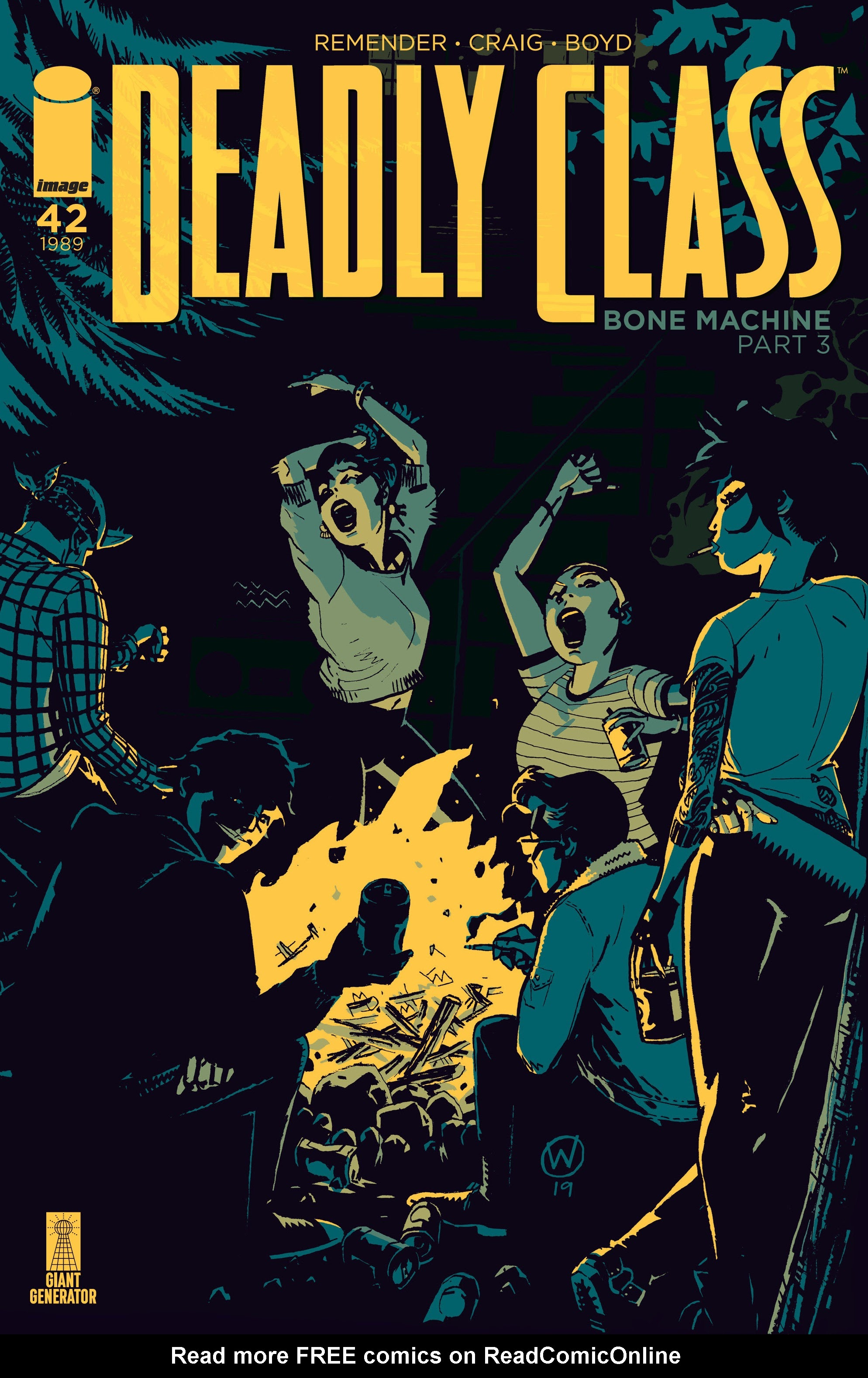Deadly Class 42 Page 1