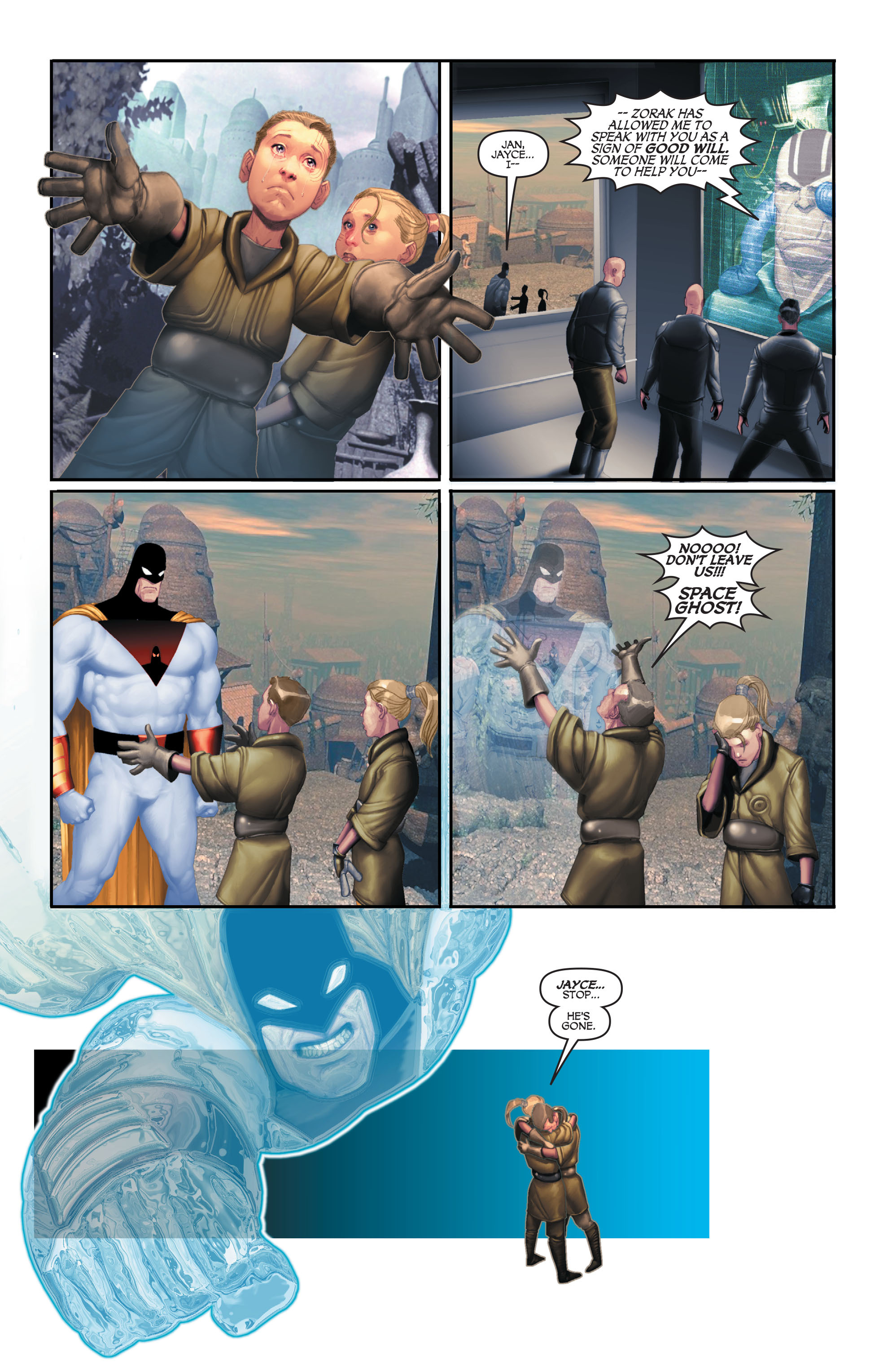 Read online Space Ghost (2016) comic -  Issue # Full - 98