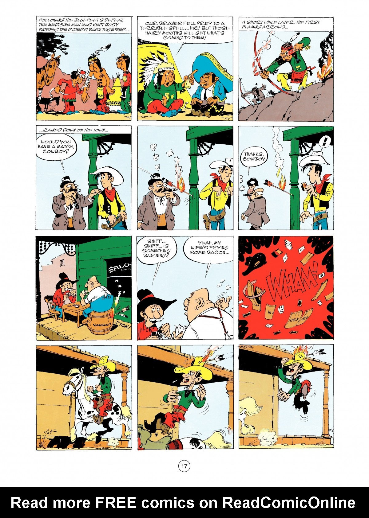 Read online A Lucky Luke Adventure comic -  Issue #43 - 17