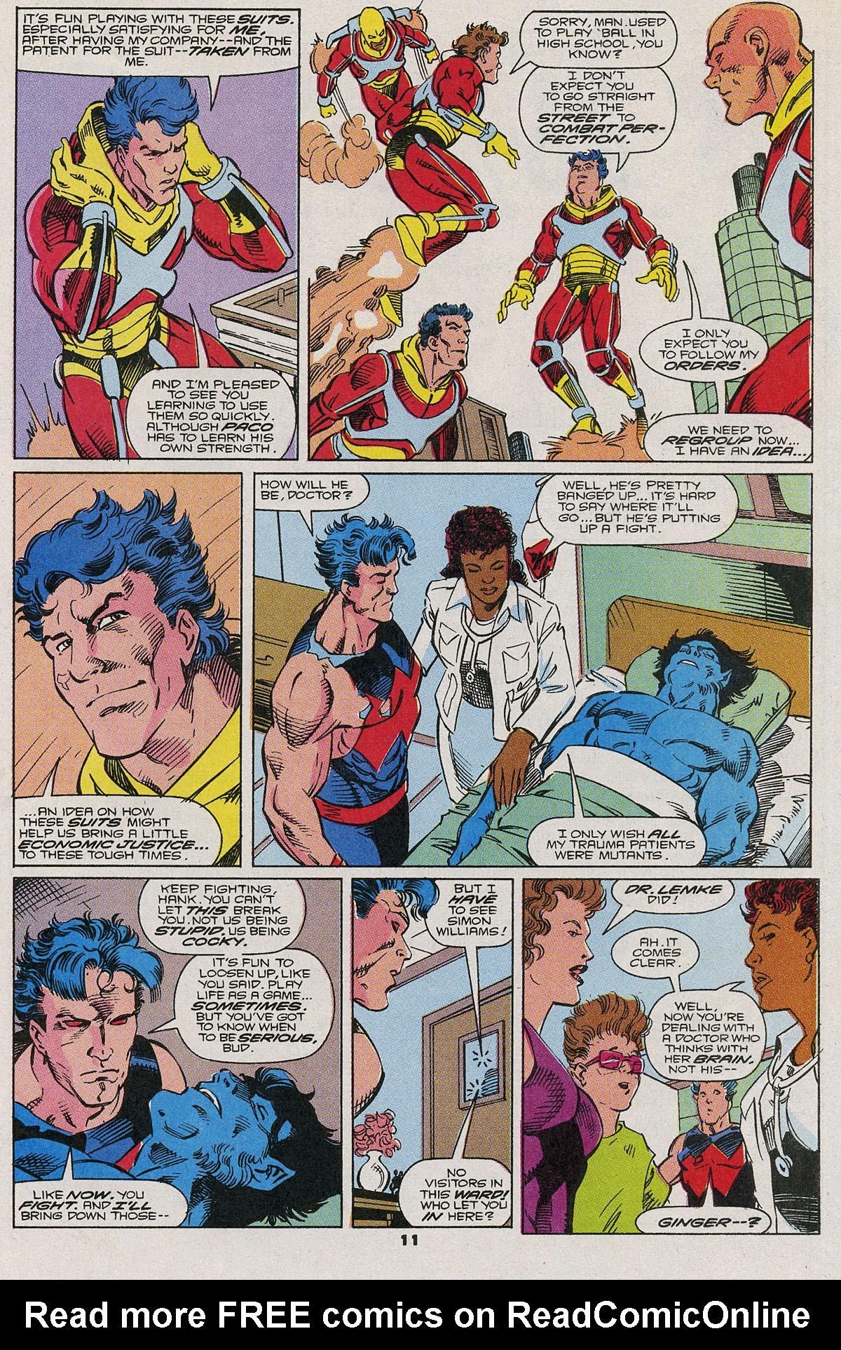 Read online Wonder Man (1991) comic -  Issue #6 - 9