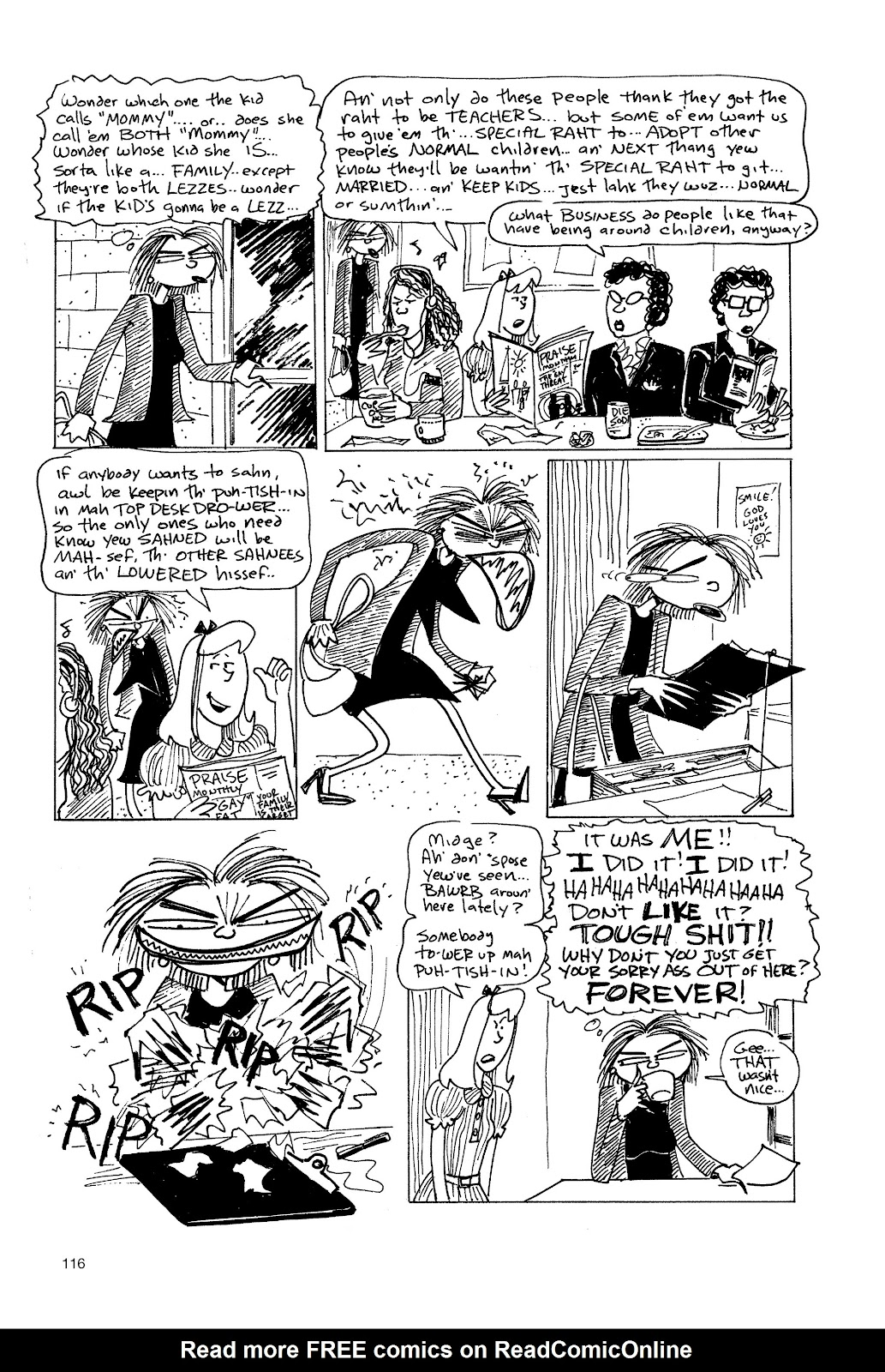 Read online Life's a Bitch: The Complete Bitchy Bitch Stories comic -  Issue # TPB (Part 2) - 14