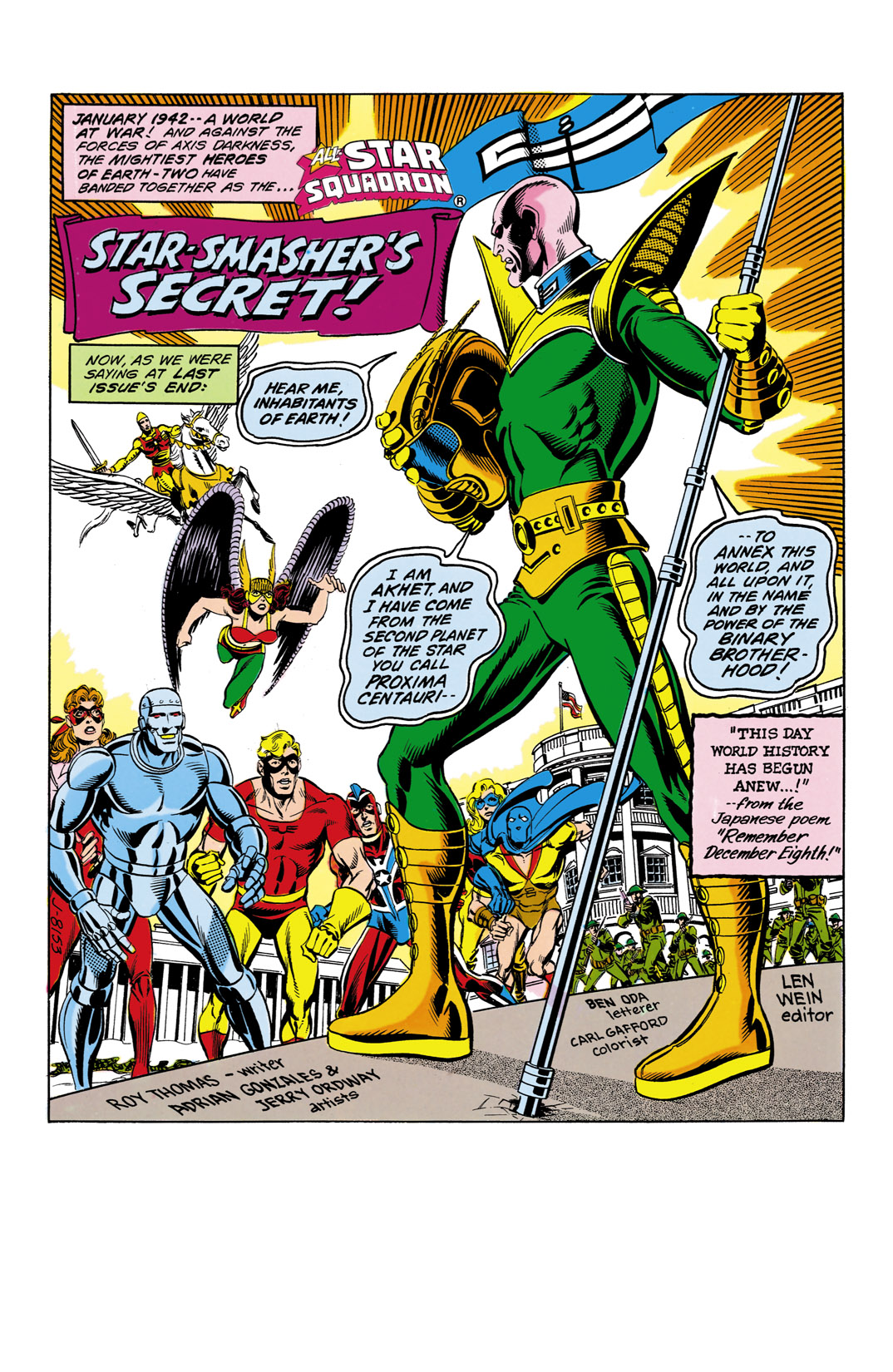 Read online All-Star Squadron comic -  Issue #11 - 2