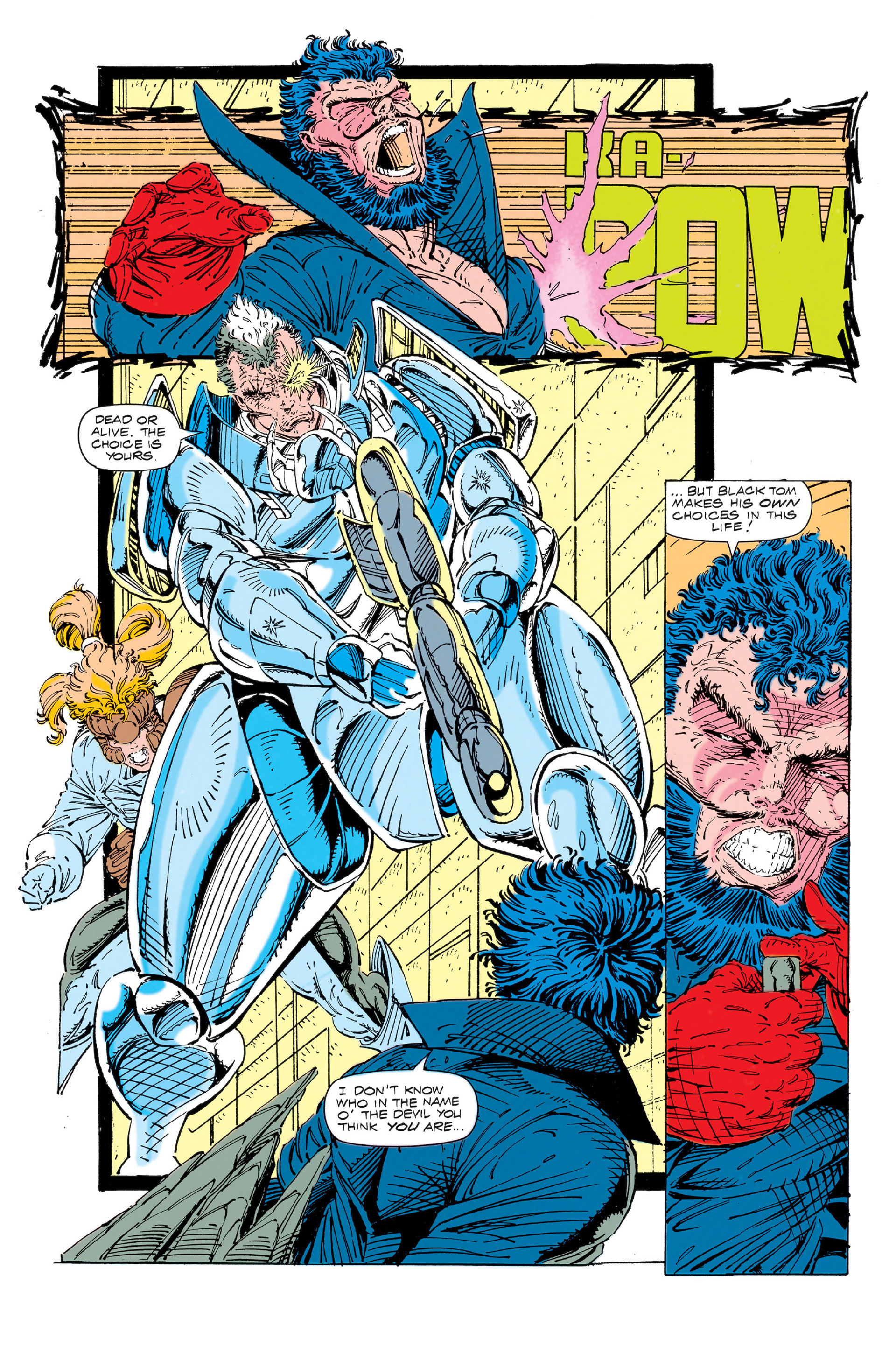 Read online X-Force (1991) comic -  Issue #3 - 17