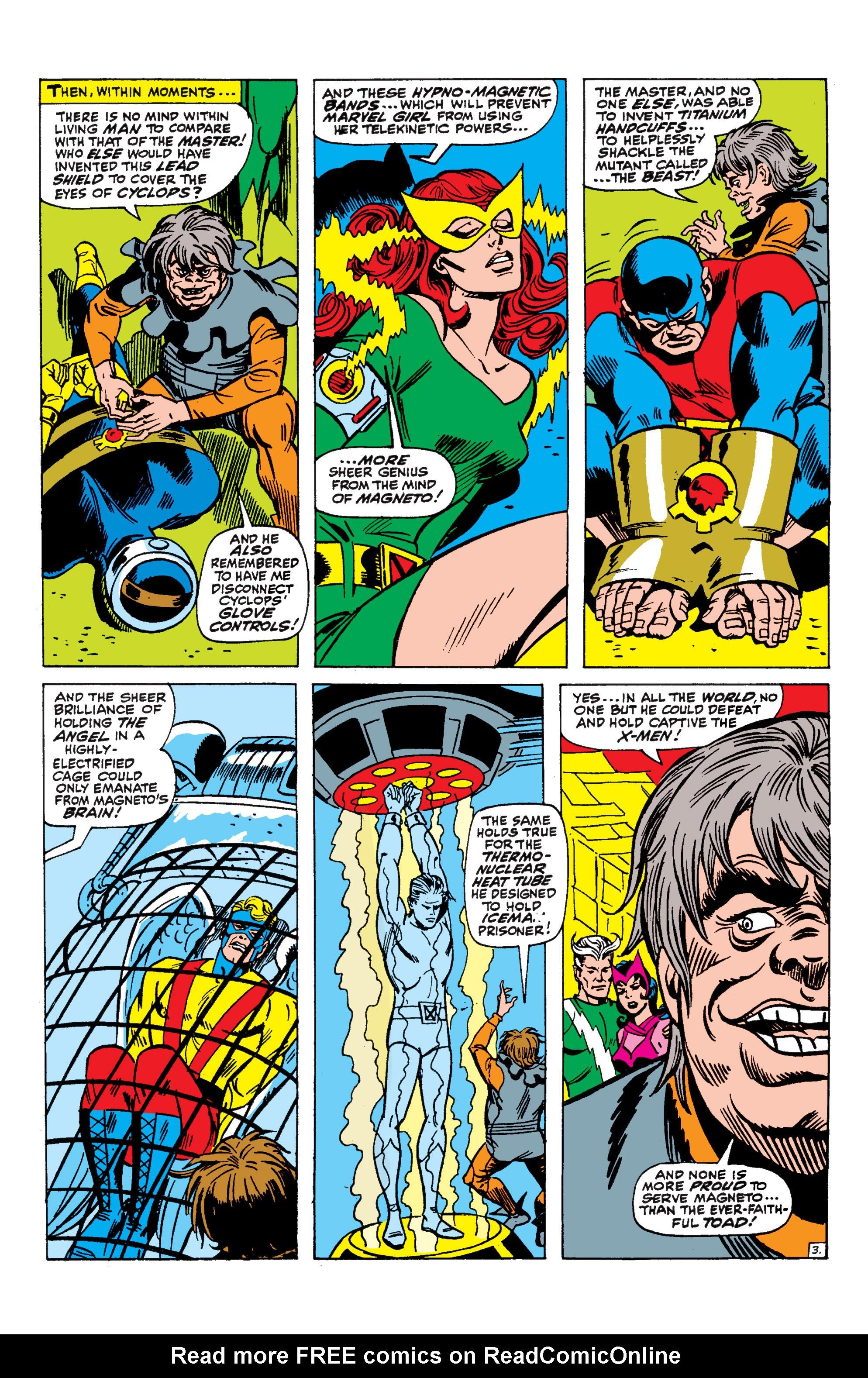 Read online Uncanny X-Men (1963) comic -  Issue #44 - 4