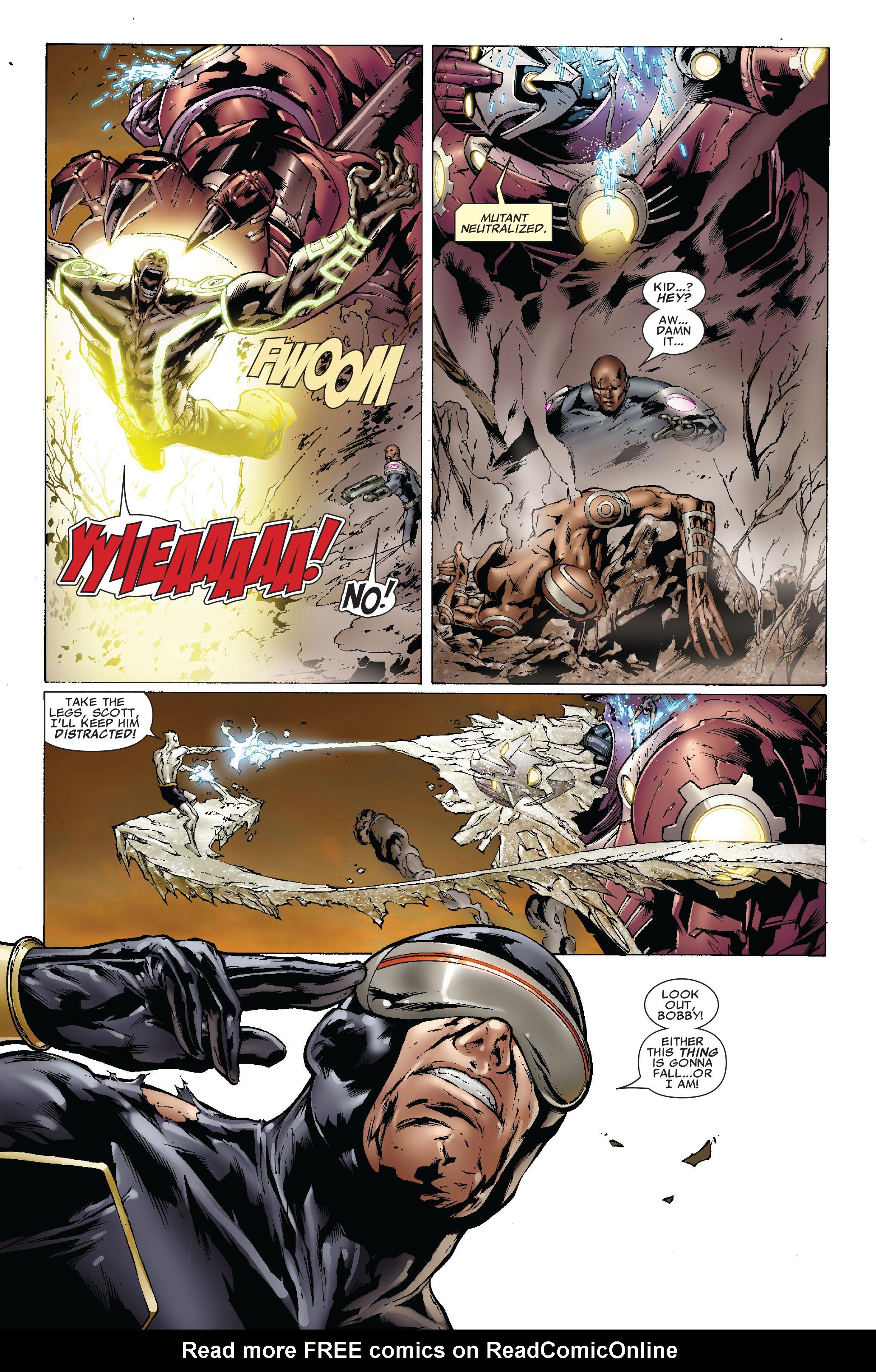 Read online Uncanny X-Men (1963) comic -  Issue #493 - 16