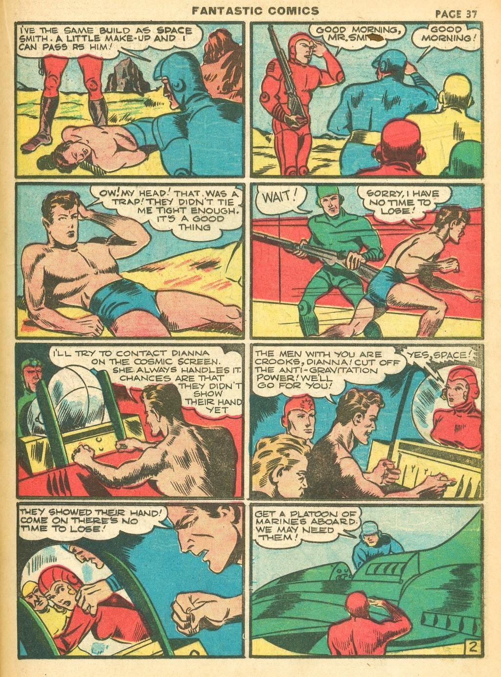 Read online Fantastic Comics comic -  Issue #12 - 39