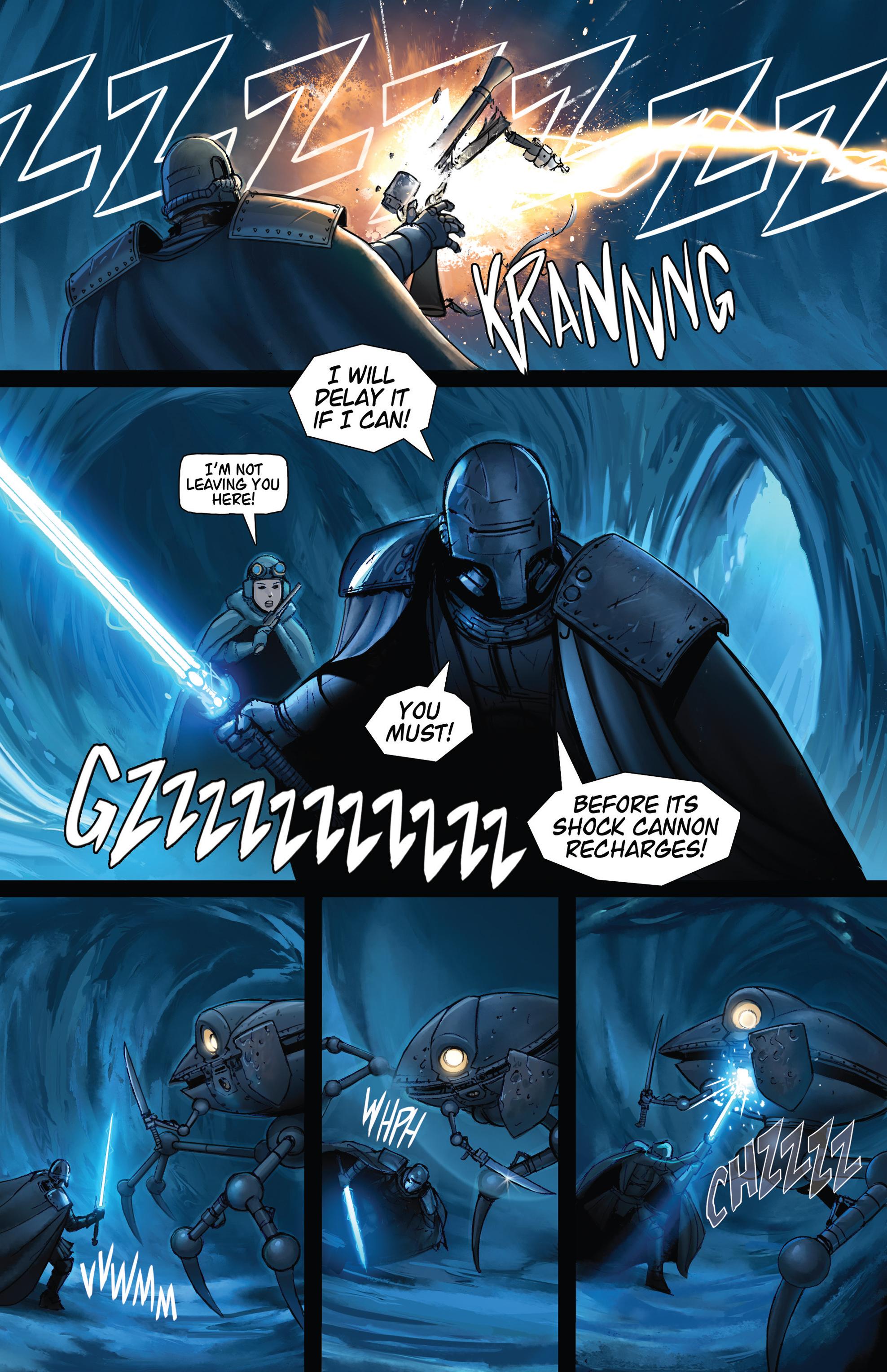 Read online Steam Wars: First Empire comic -  Issue #4 - 13