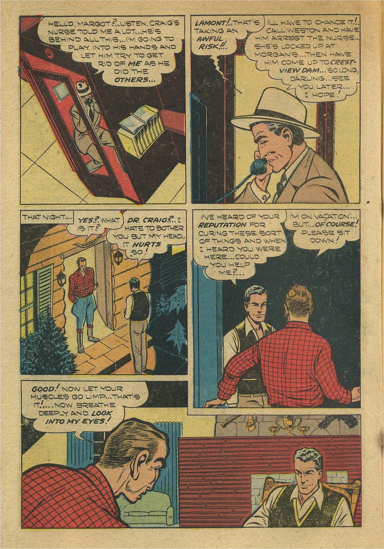 Read online Shadow Comics comic -  Issue #93 - 11