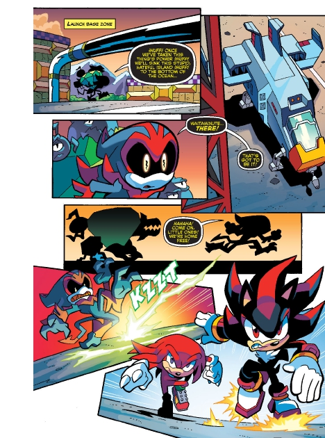 Read online Sonic Comics Spectacular: Speed of Sound comic -  Issue # Full - 243