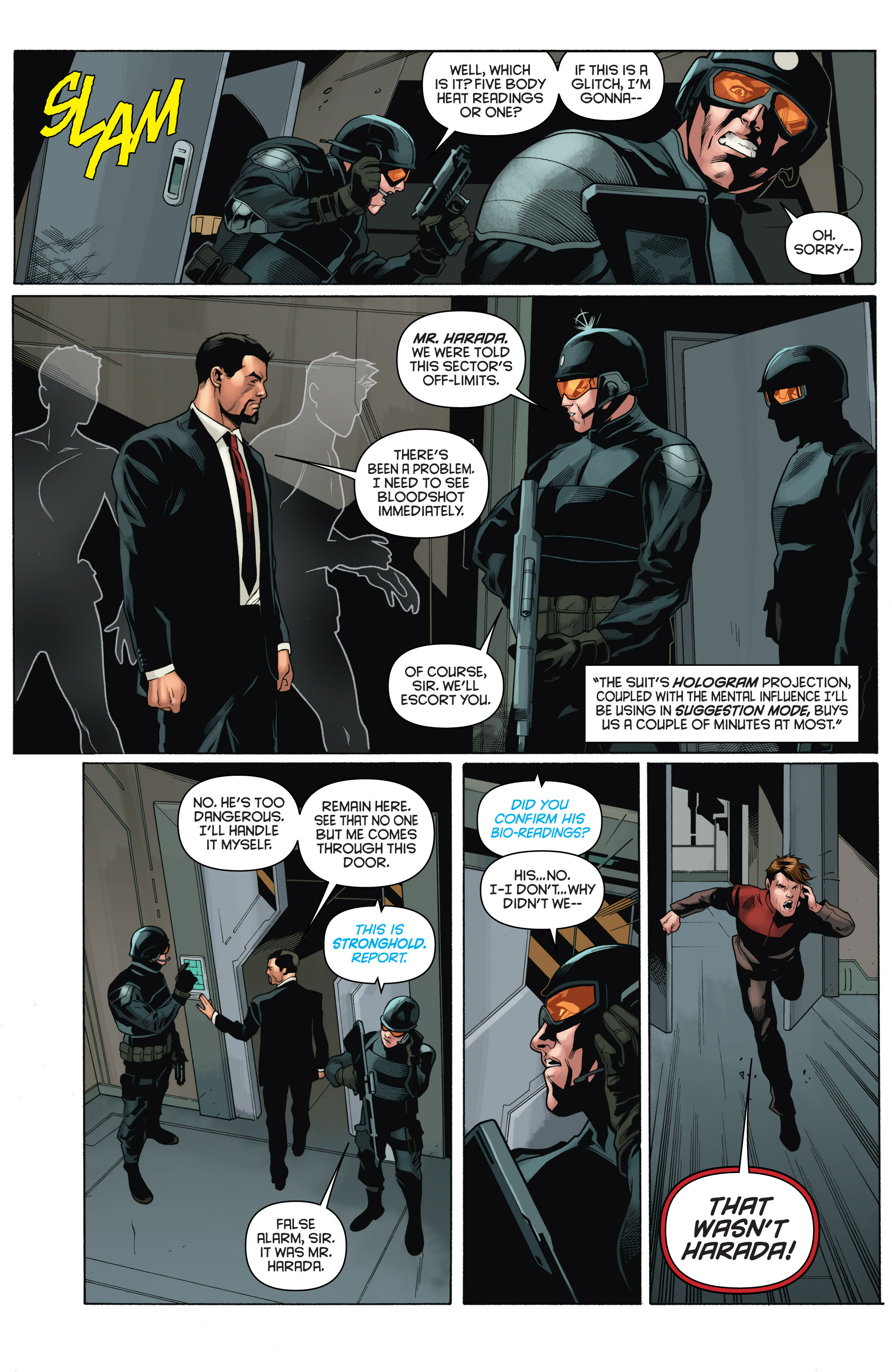 Read online Bloodshot and H.A.R.D.Corps comic -  Issue # TPB 4 - 27
