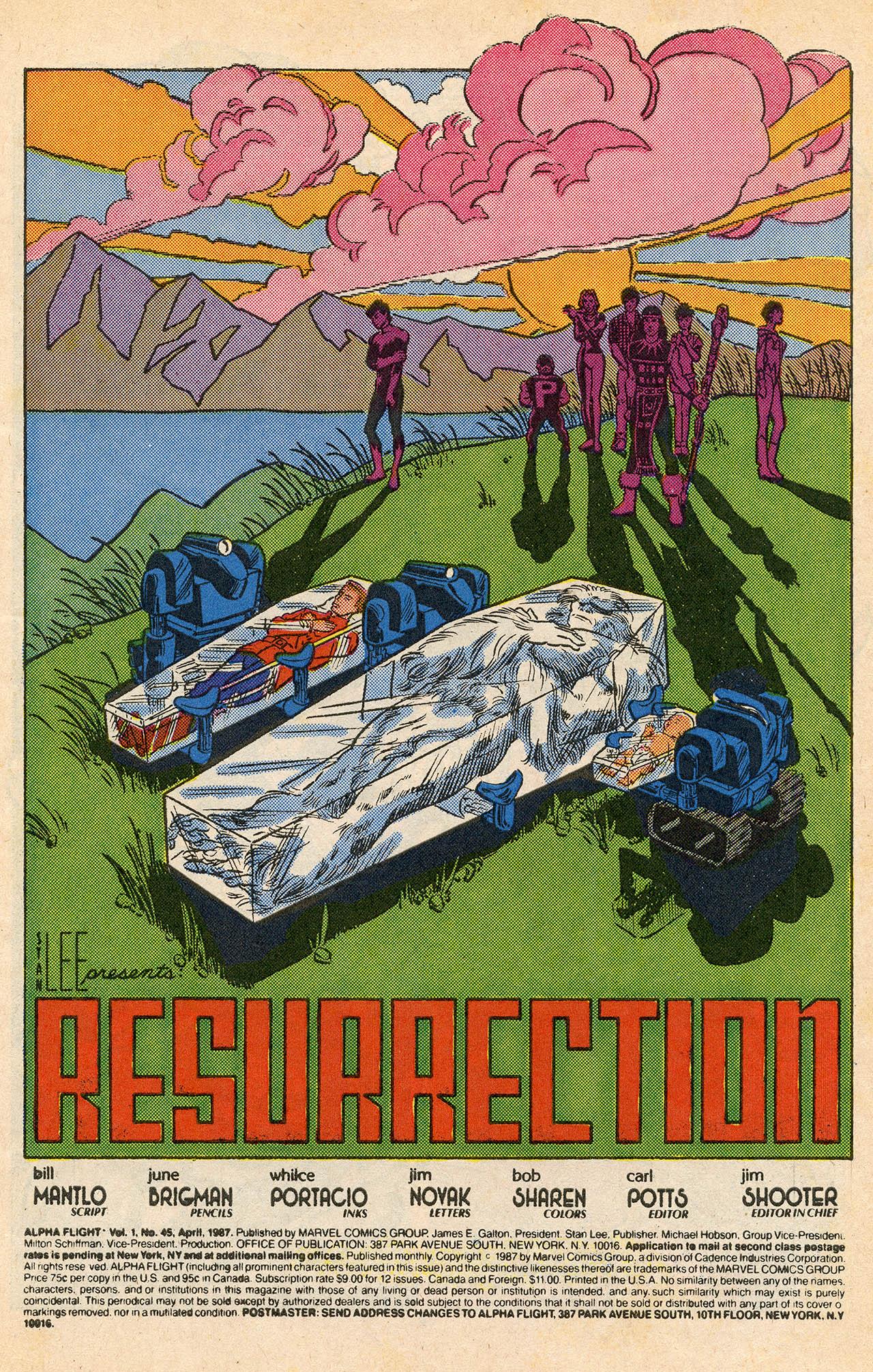 Read online Alpha Flight (1983) comic -  Issue #45 - 3