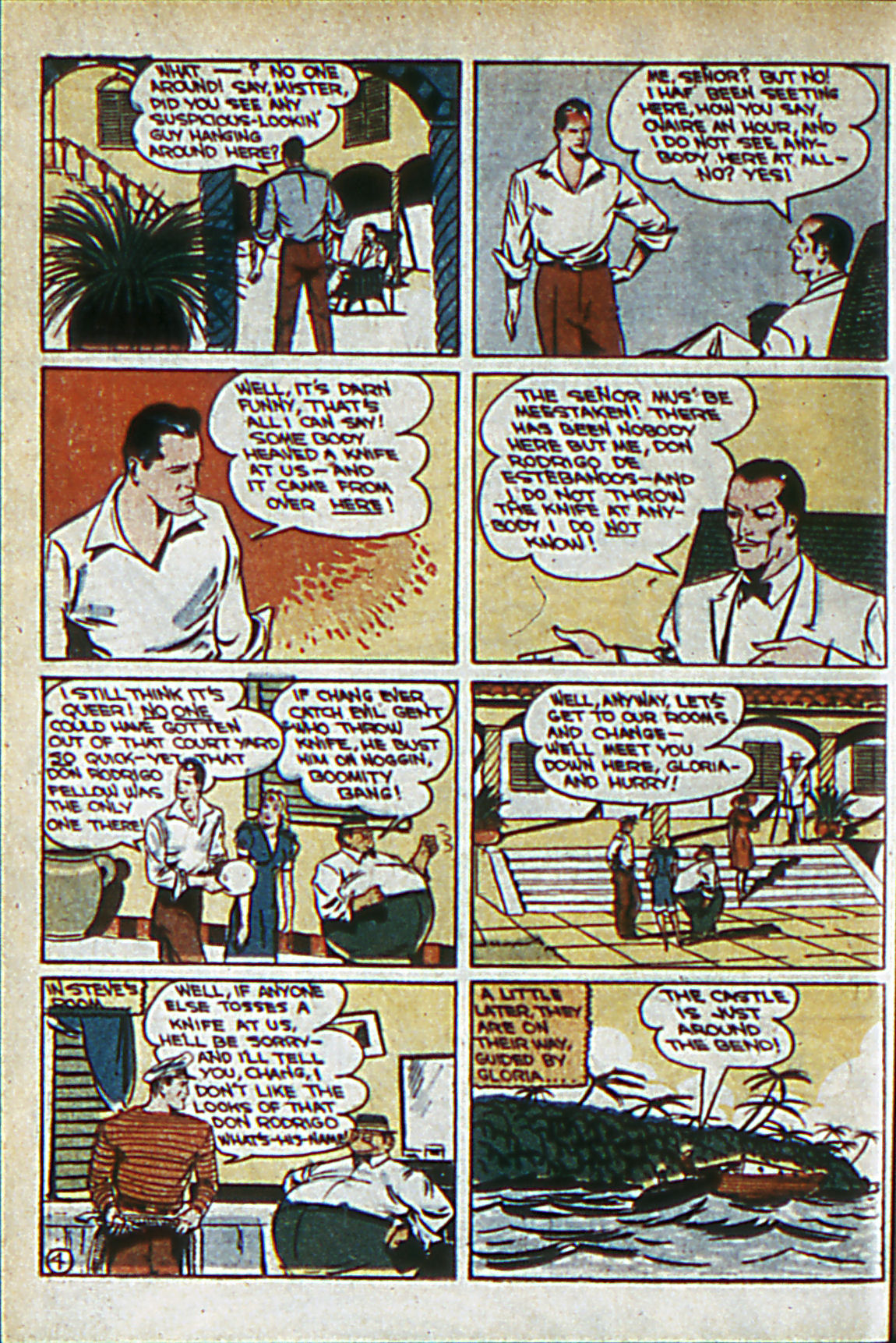 Read online Adventure Comics (1938) comic -  Issue #60 - 51