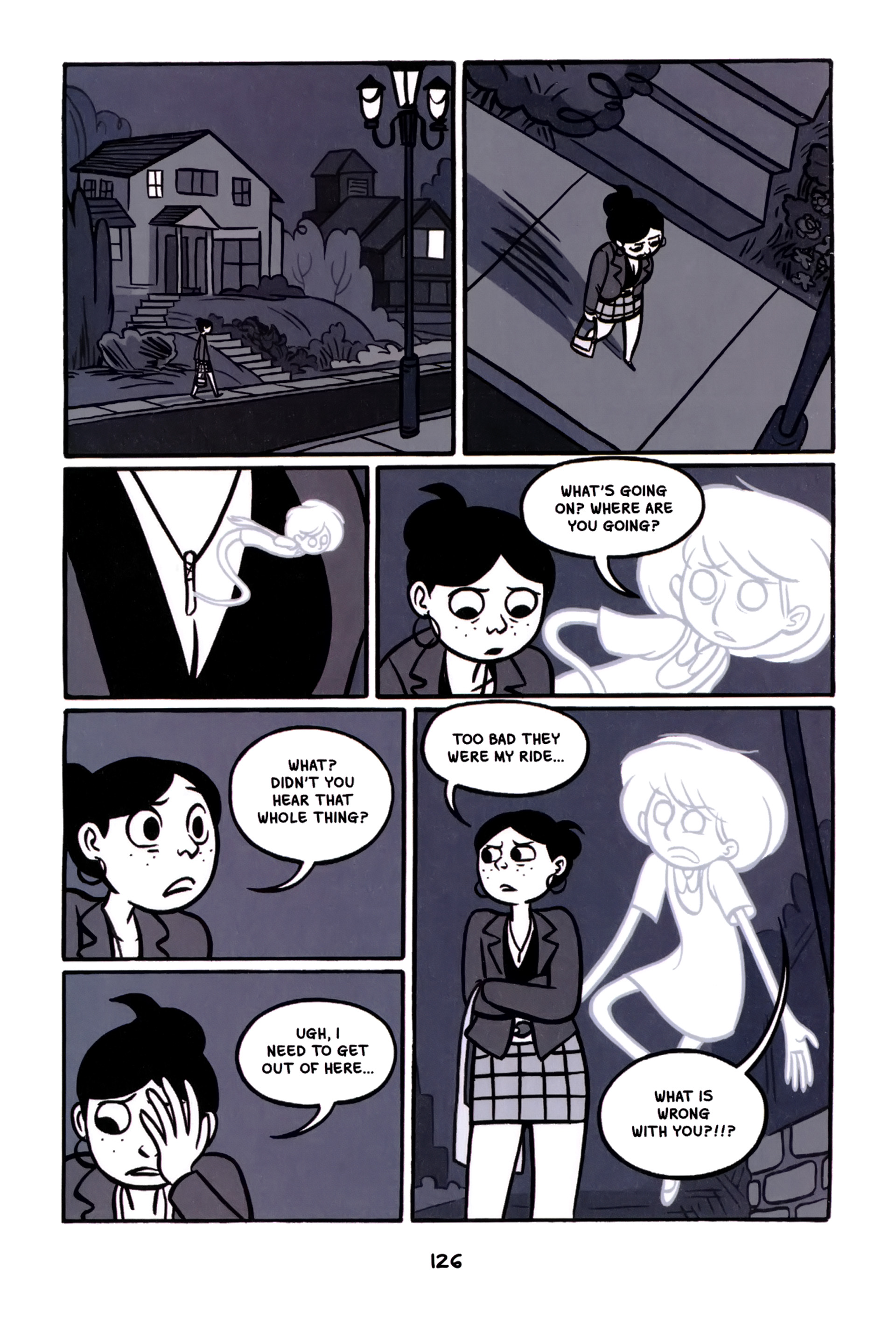 Read online Anya's Ghost comic -  Issue #1 - 127