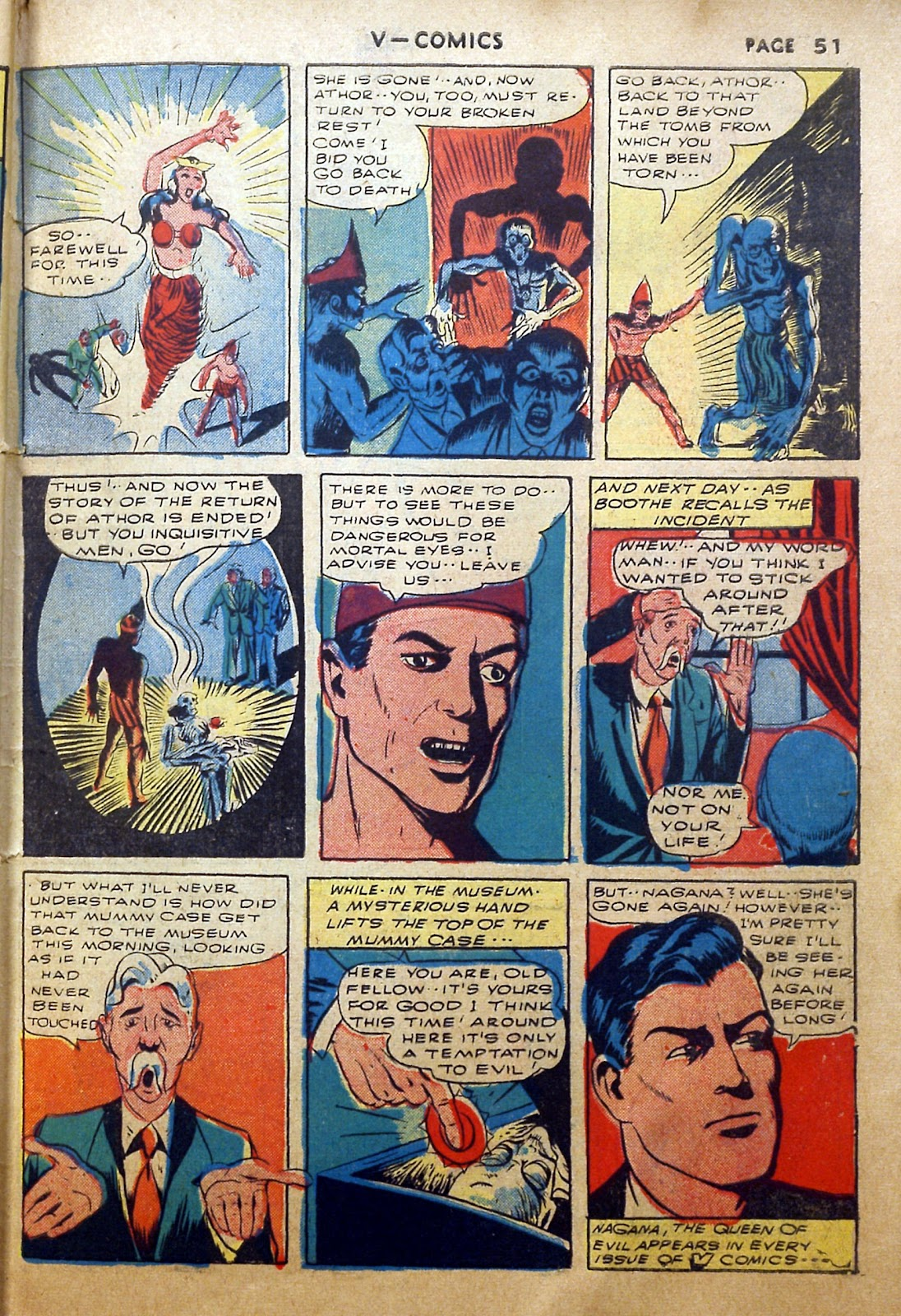 Read online V...- Comics comic -  Issue #2 - 52