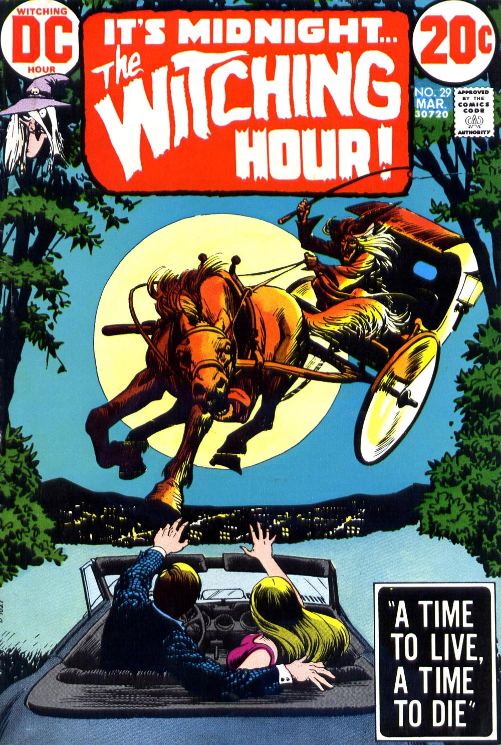 The Witching Hour (1969) issue 29 - Page 1