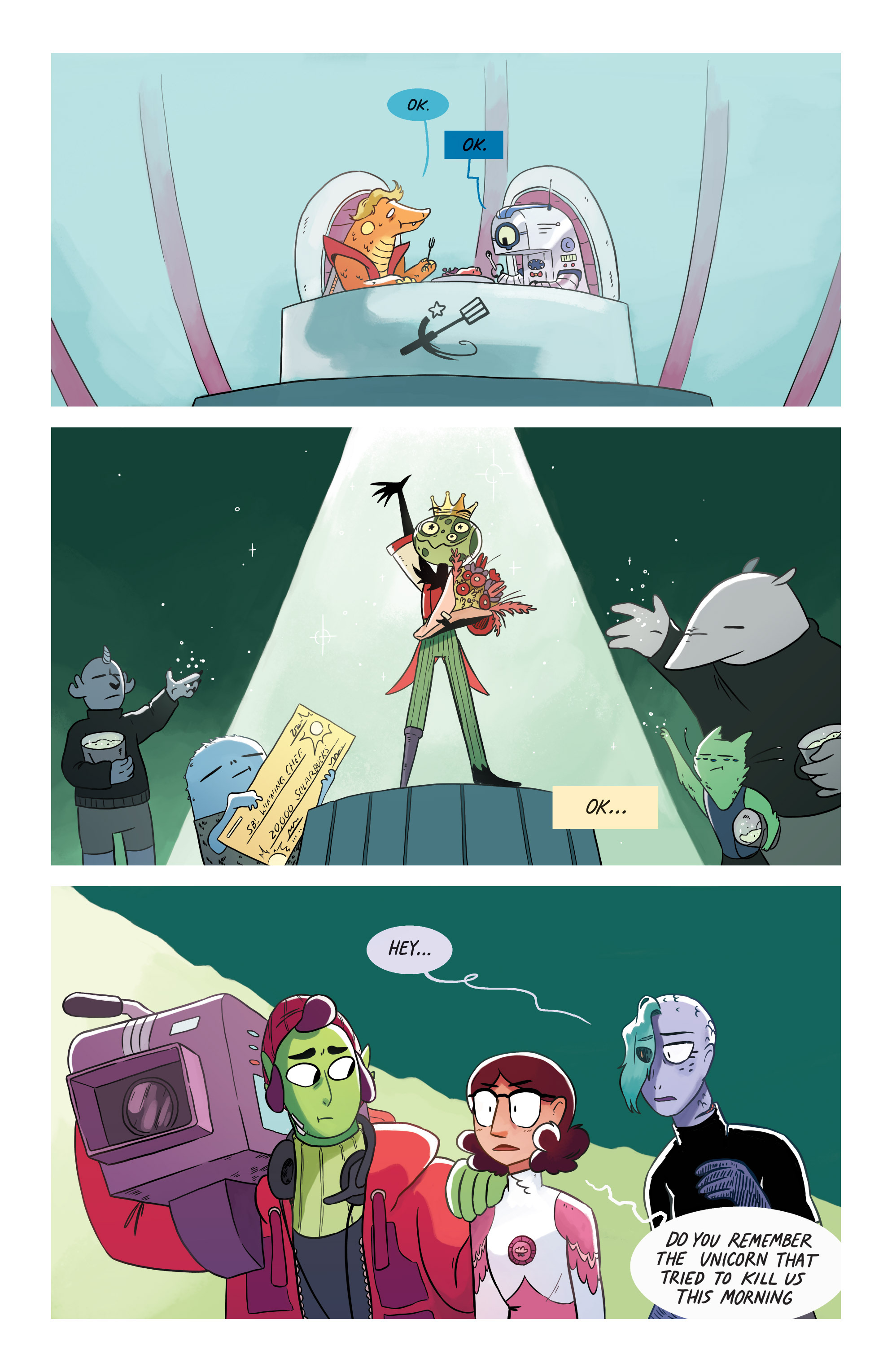 Read online Space Battle Lunchtime comic -  Issue #8 - 18