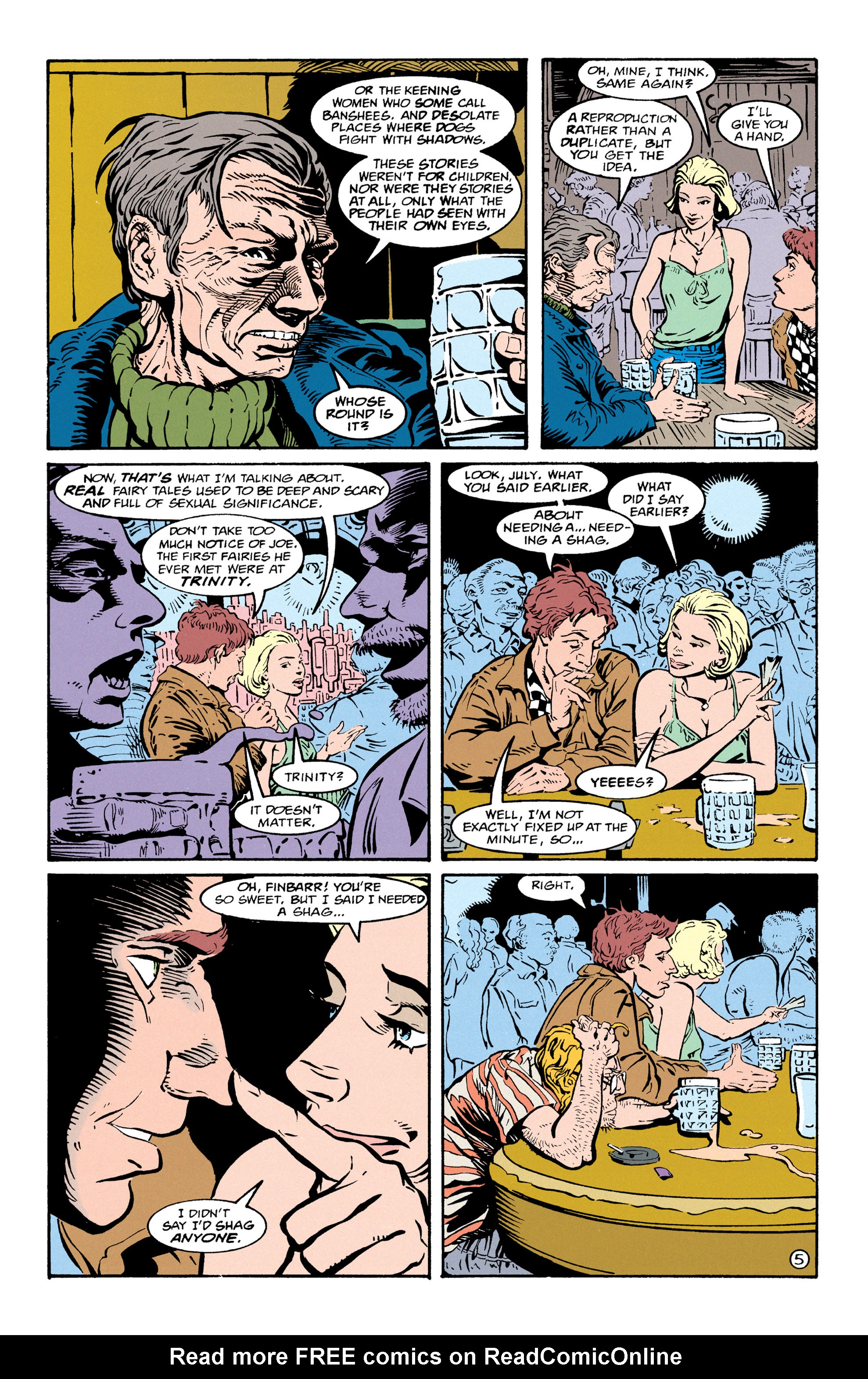 Read online Shade, the Changing Man comic -  Issue #67 - 6