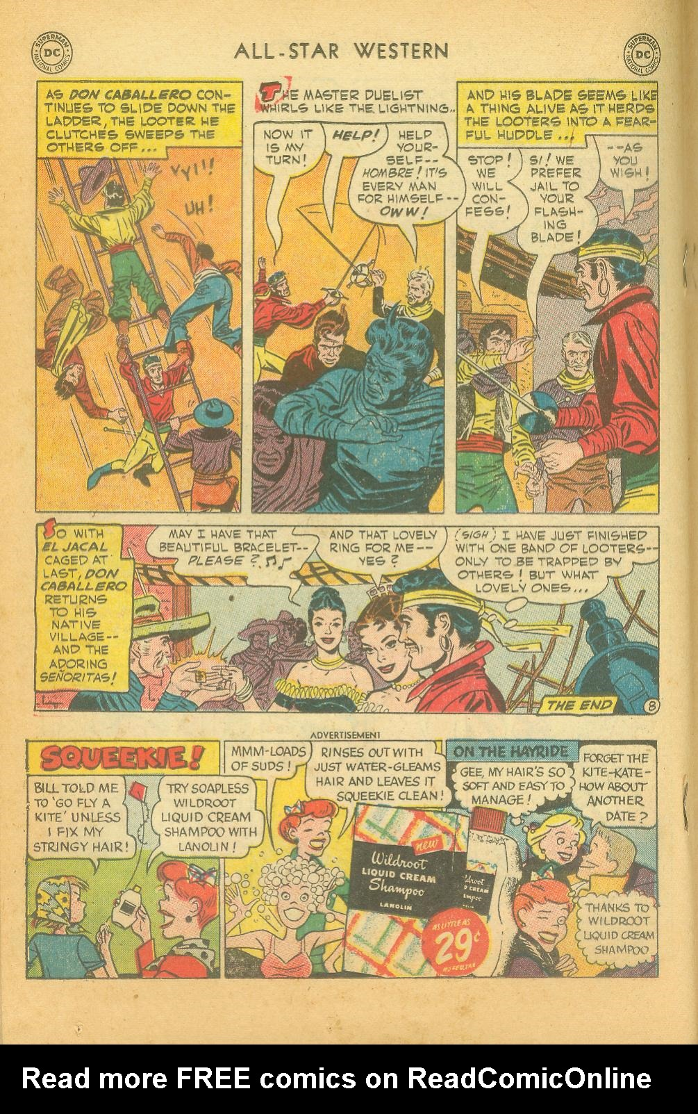Read online All-Star Western (1951) comic -  Issue #61 - 22