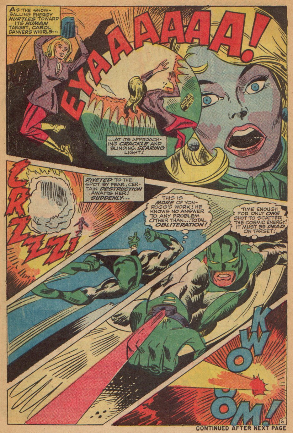 Captain Marvel (1968) Issue #7 #7 - English 7