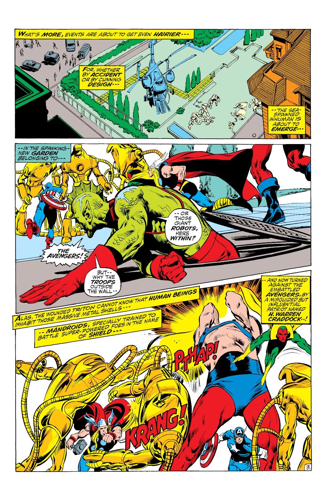 Read online Marvel Masterworks: The Inhumans comic -  Issue # TPB 1 (Part 2) - 98