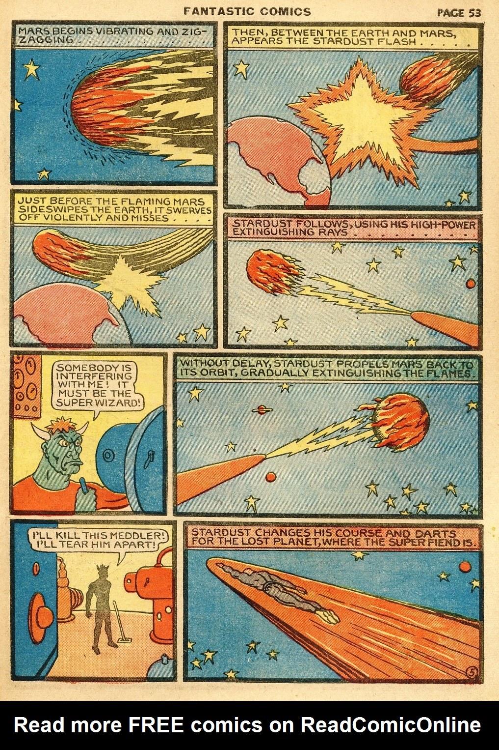 Read online Fantastic Comics comic -  Issue #10 - 54