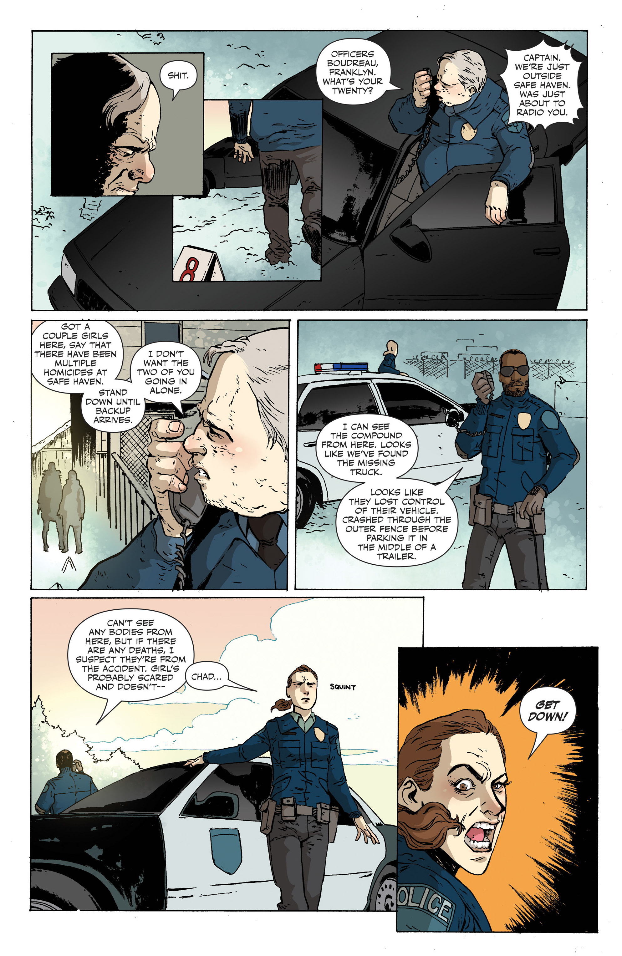 Read online Sheltered comic -  Issue #12 - 13