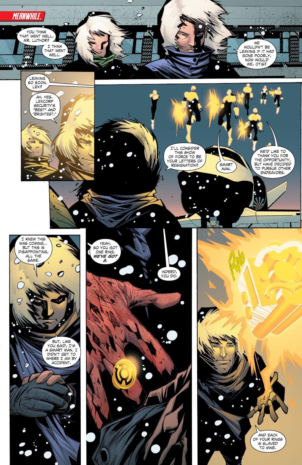 Read online Smallville Season 11 [II] comic -  Issue # TPB 8 - 170
