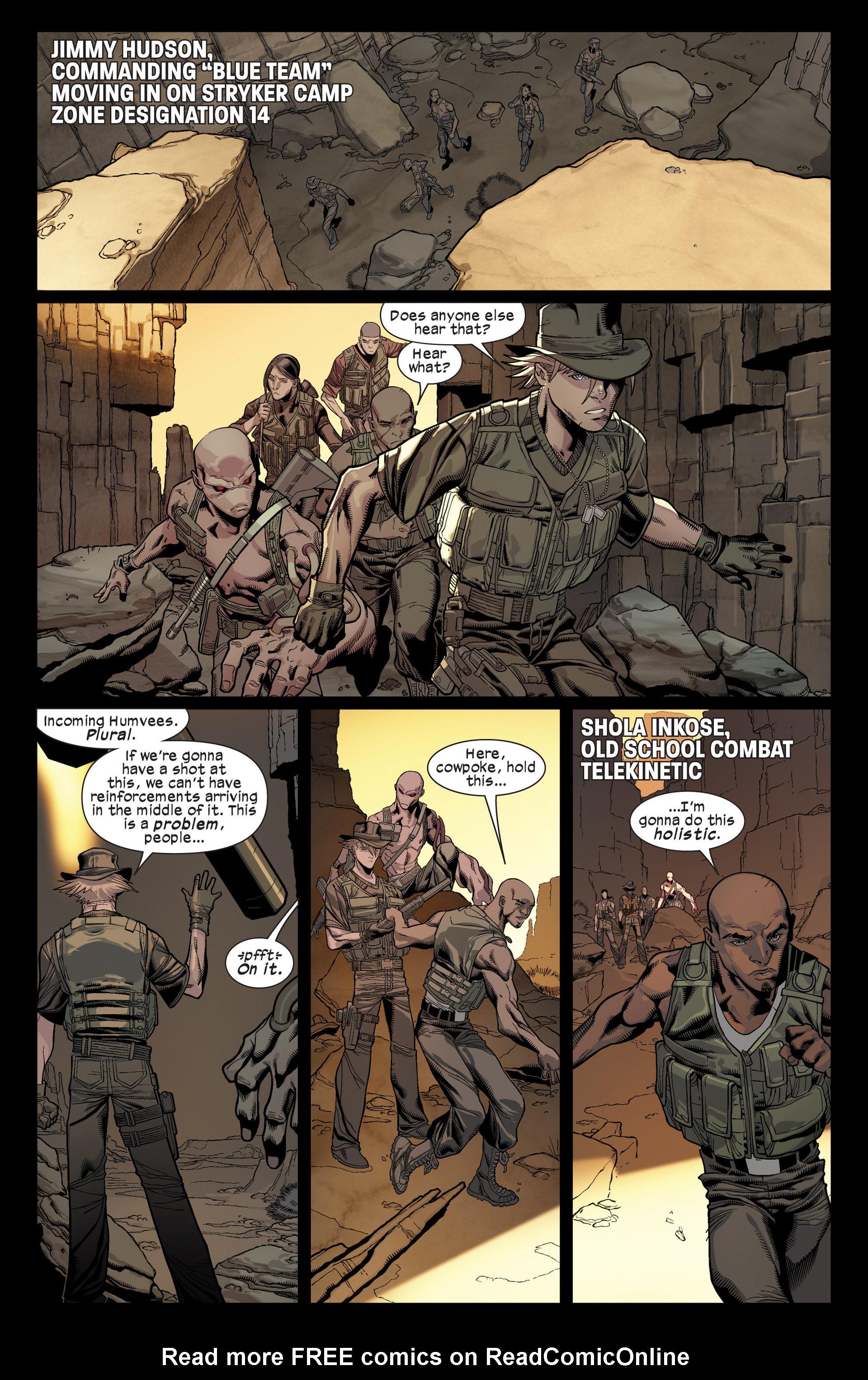 Read online Ultimate Comics X-Men comic -  Issue #17 - 9