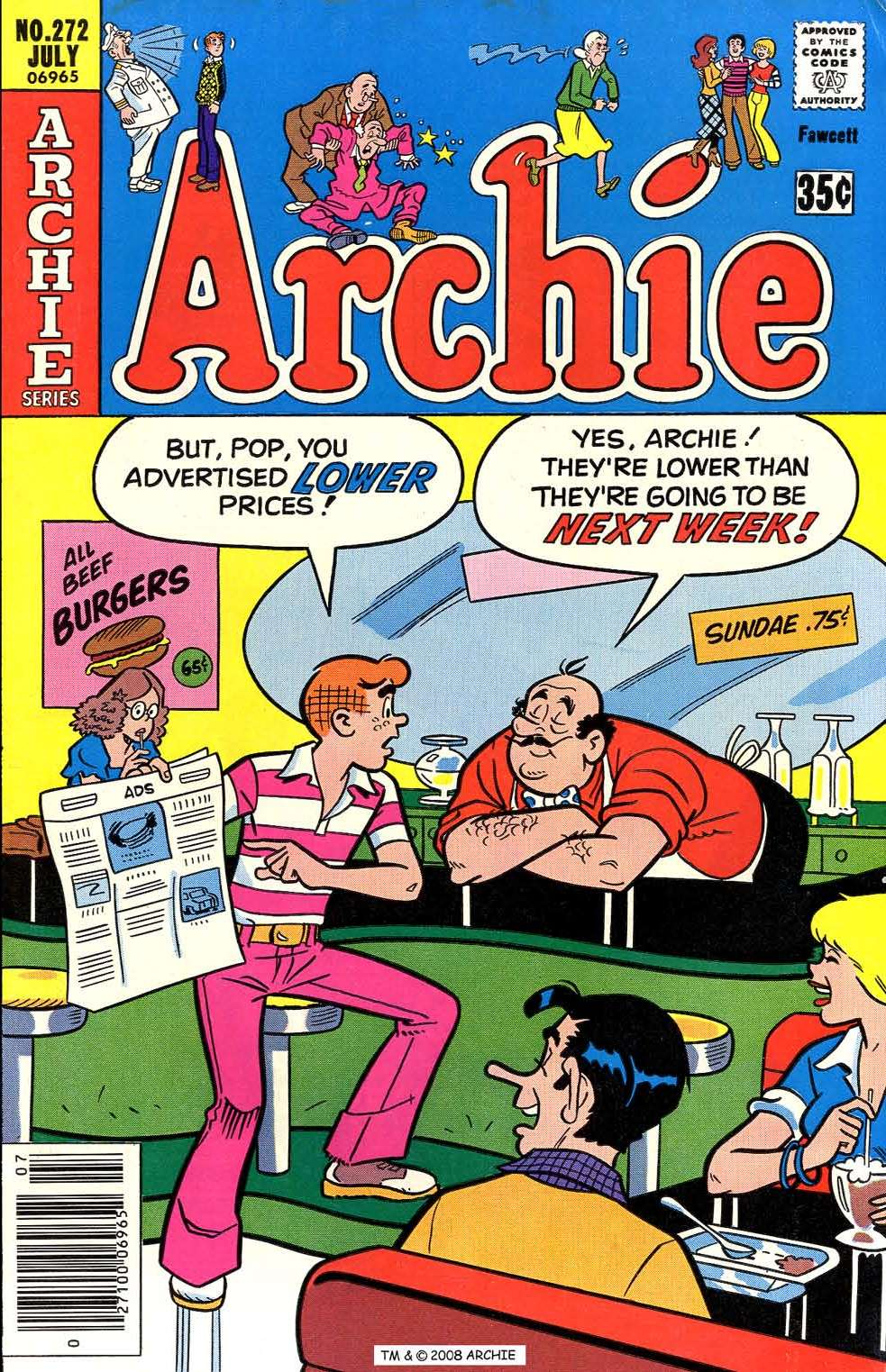 Read online Archie (1960) comic -  Issue #272 - 1