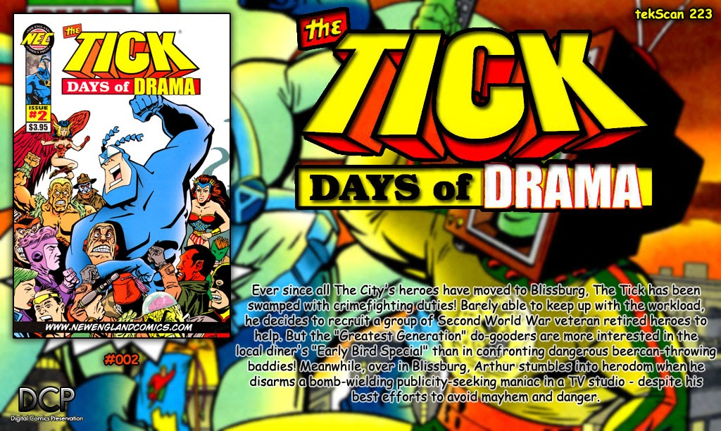 Read online The Tick: Days of Drama comic -  Issue #2 - 32