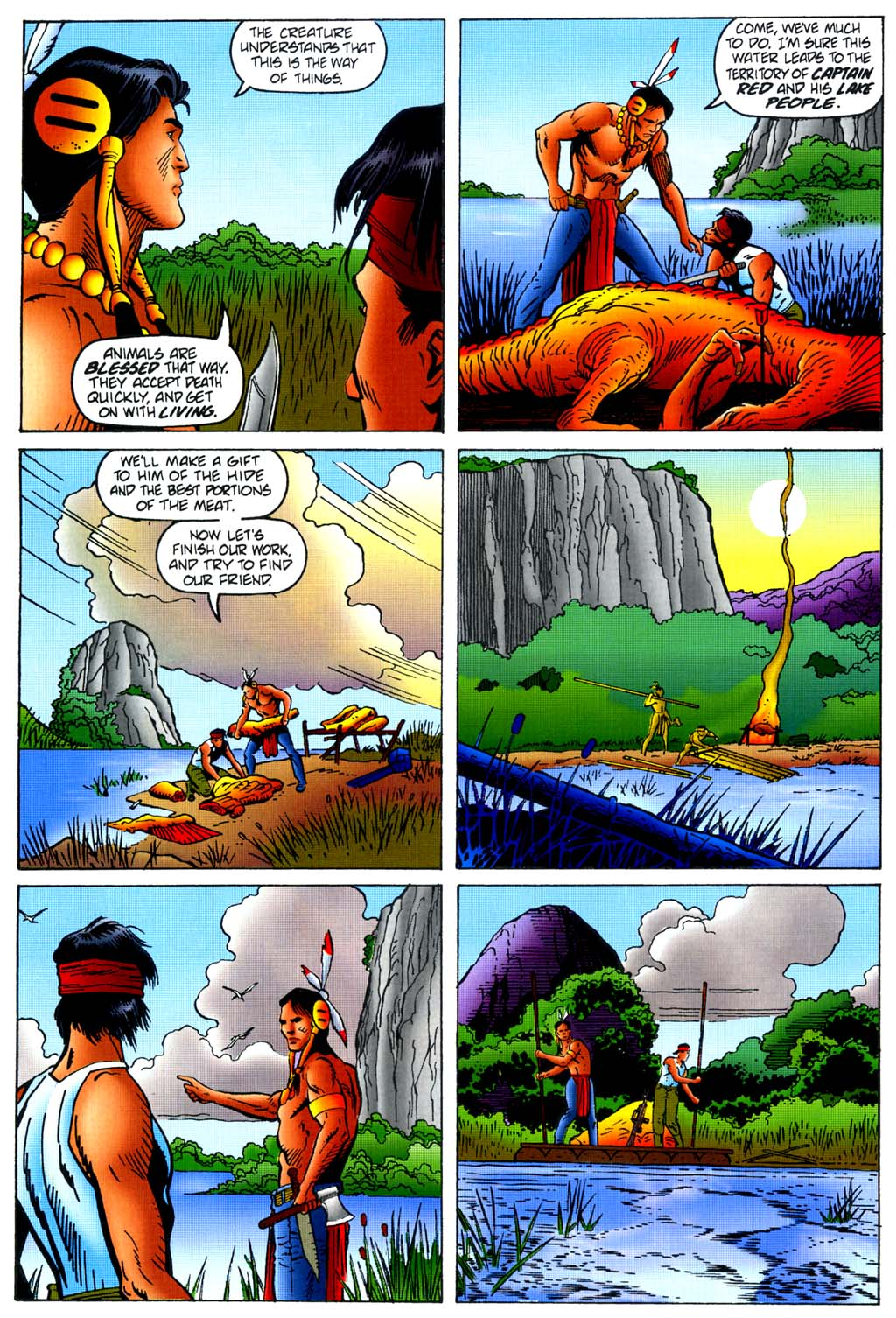 Read online Turok, Dinosaur Hunter (1993) comic -  Issue #45 - 6