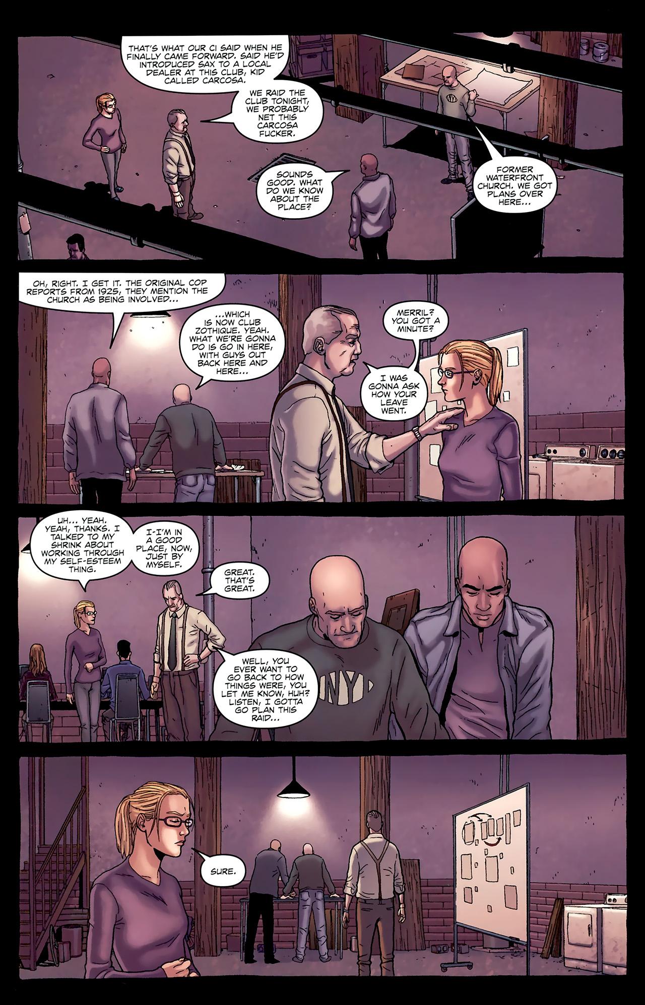 Read online Alan Moore's Neonomicon comic -  Issue #1 - 23