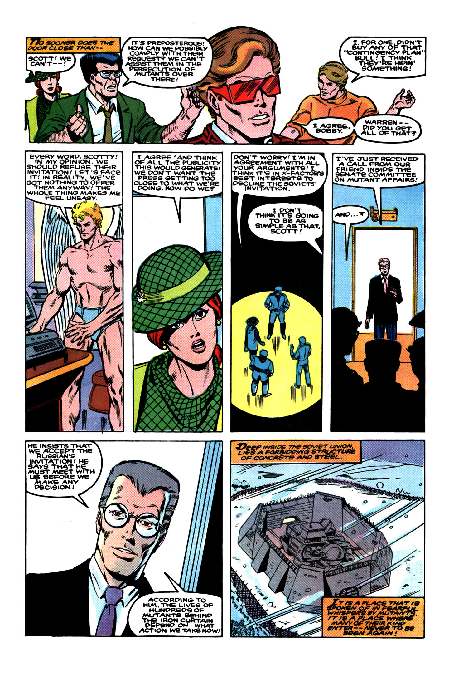 Read online X-Factor (1986) comic -  Issue # _ Annual 1 - 7