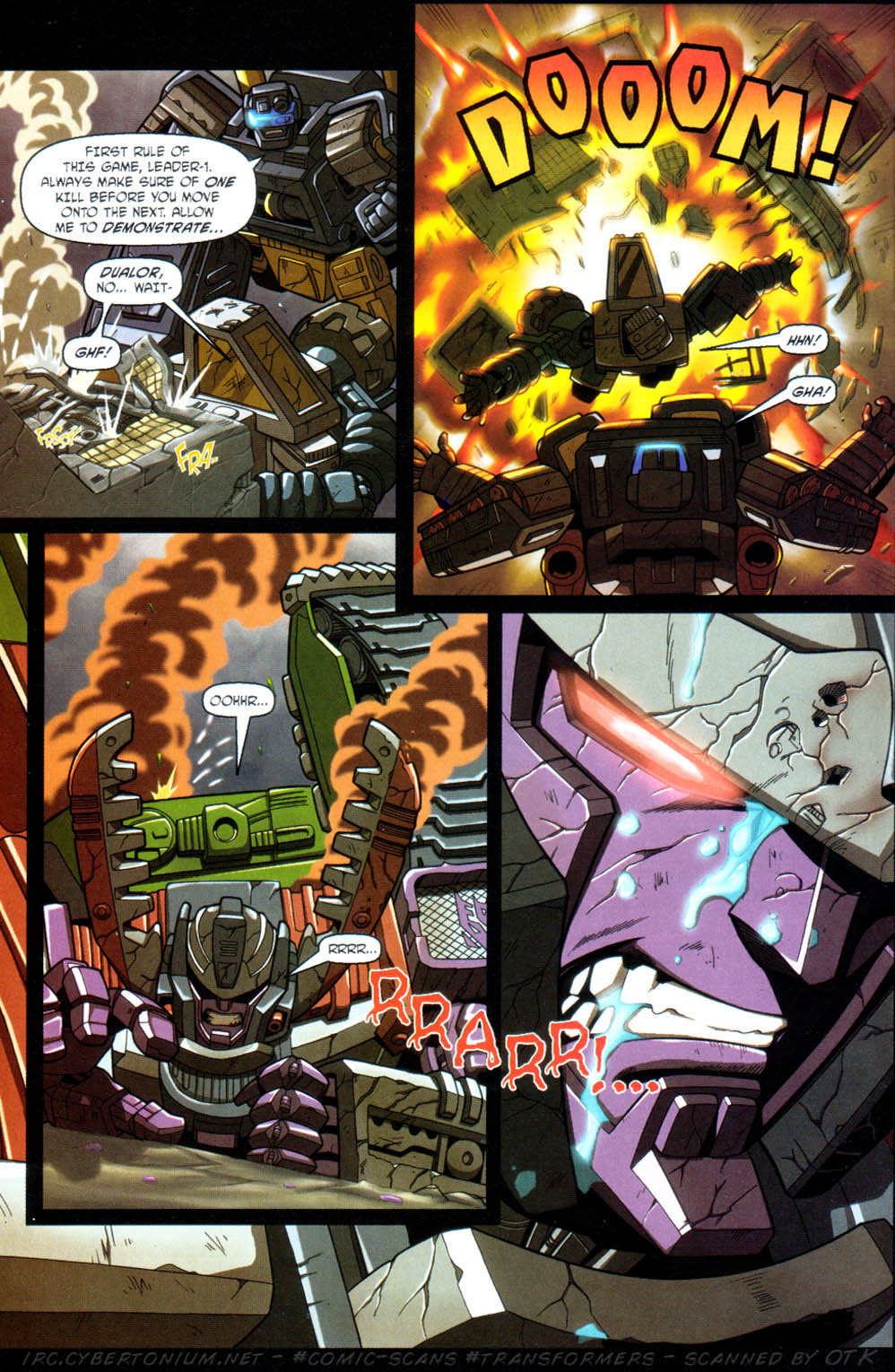 Read online Transformers Armada comic -  Issue #11 - 20