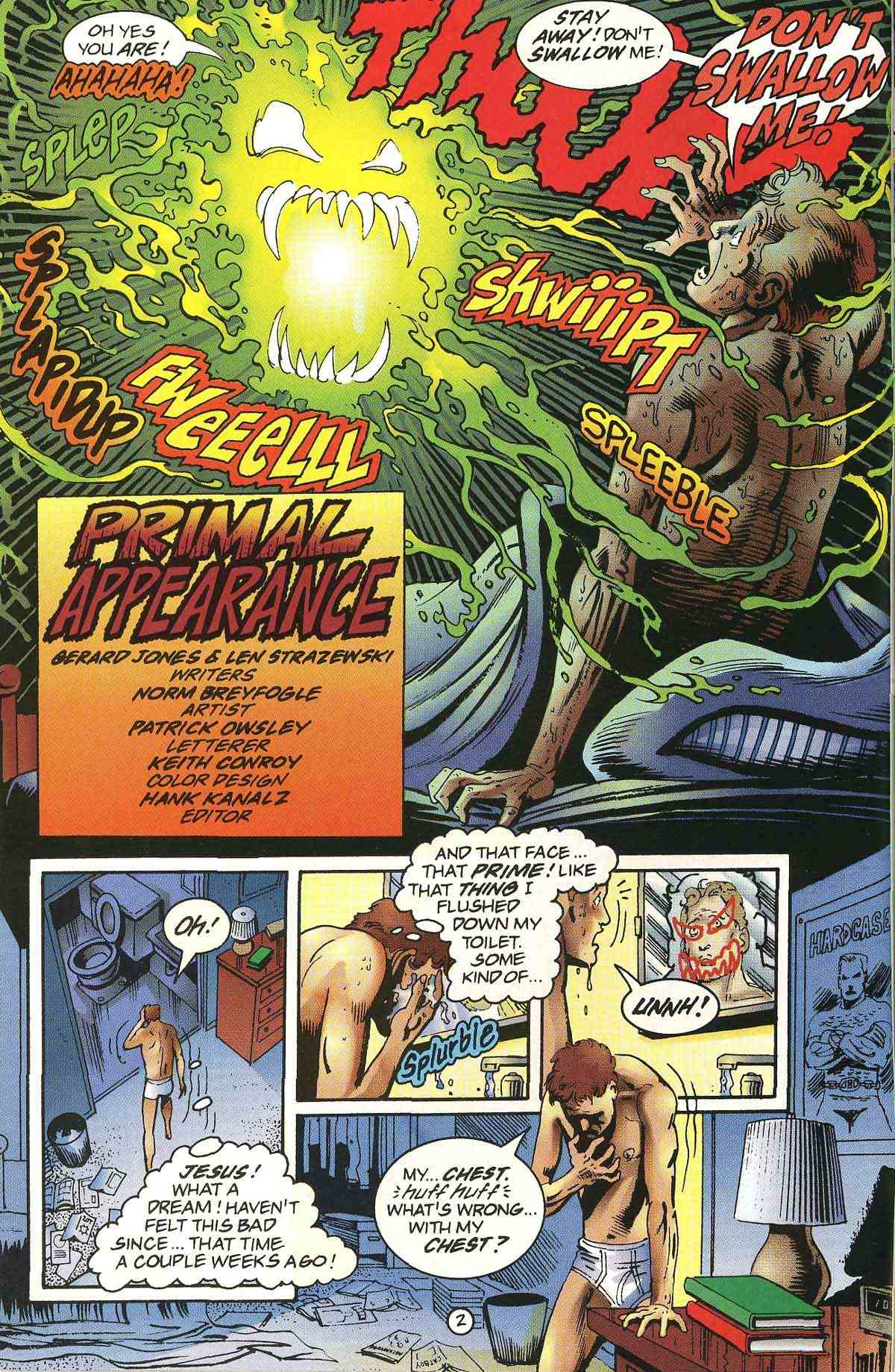 Read online Ultraverse Premiere comic -  Issue #0 - 4