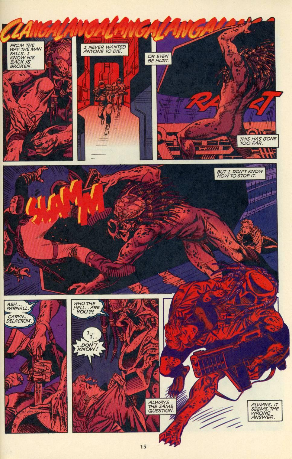 Read online Aliens/Predator: The Deadliest of the Species comic -  Issue #4 - 16