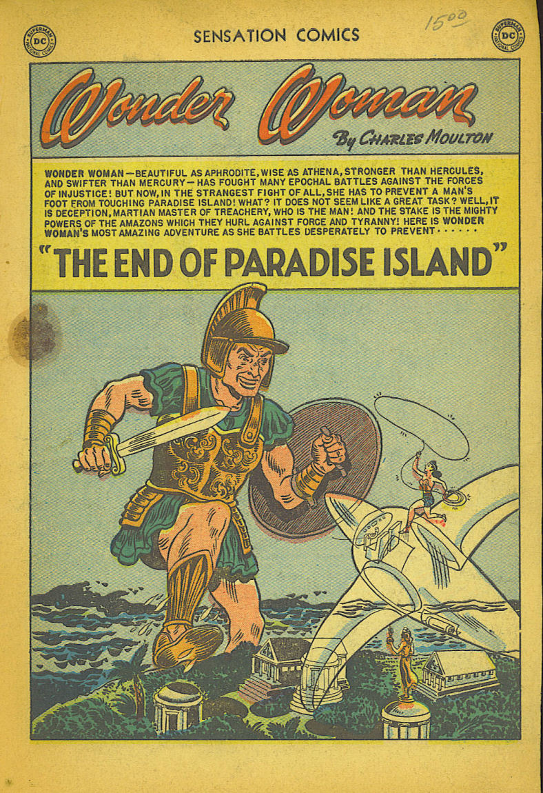 Read online Sensation (Mystery) Comics comic -  Issue #104 - 3