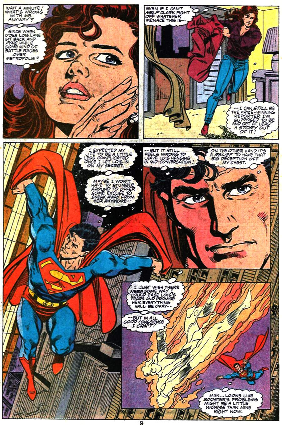 Read online Adventures of Superman (1987) comic -  Issue #476 - 10