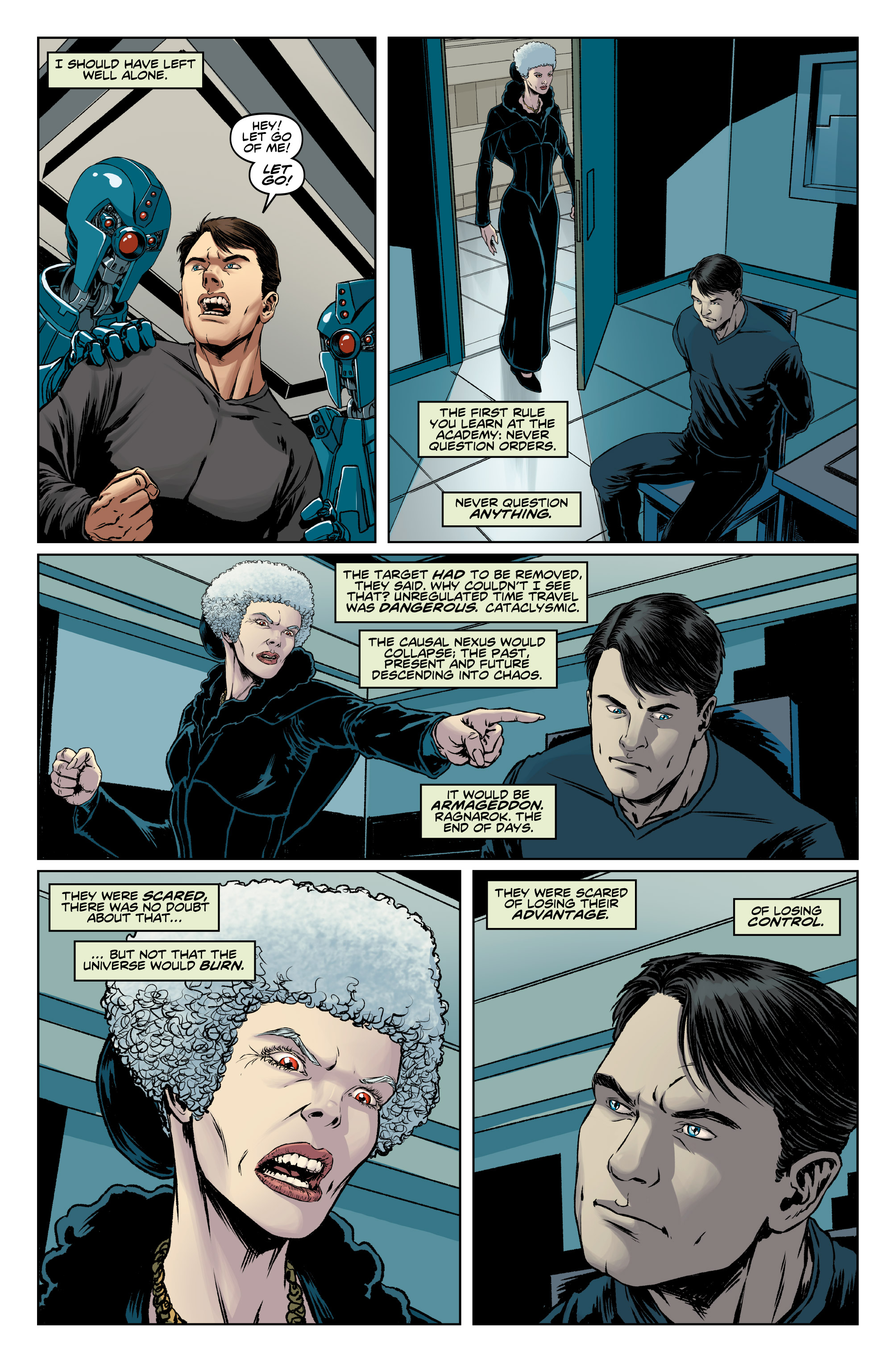 Read online Doctor Who: The Ninth Doctor (2016) comic -  Issue #13 - 14