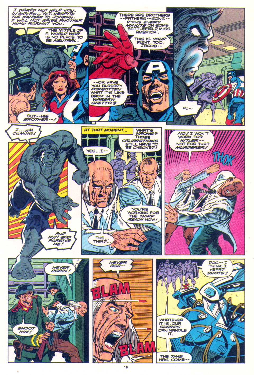 Read online The Invaders (1993) comic -  Issue #4 - 16