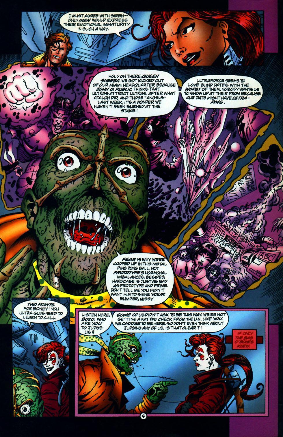 Read online UltraForce (1994) comic -  Issue #10 - 5