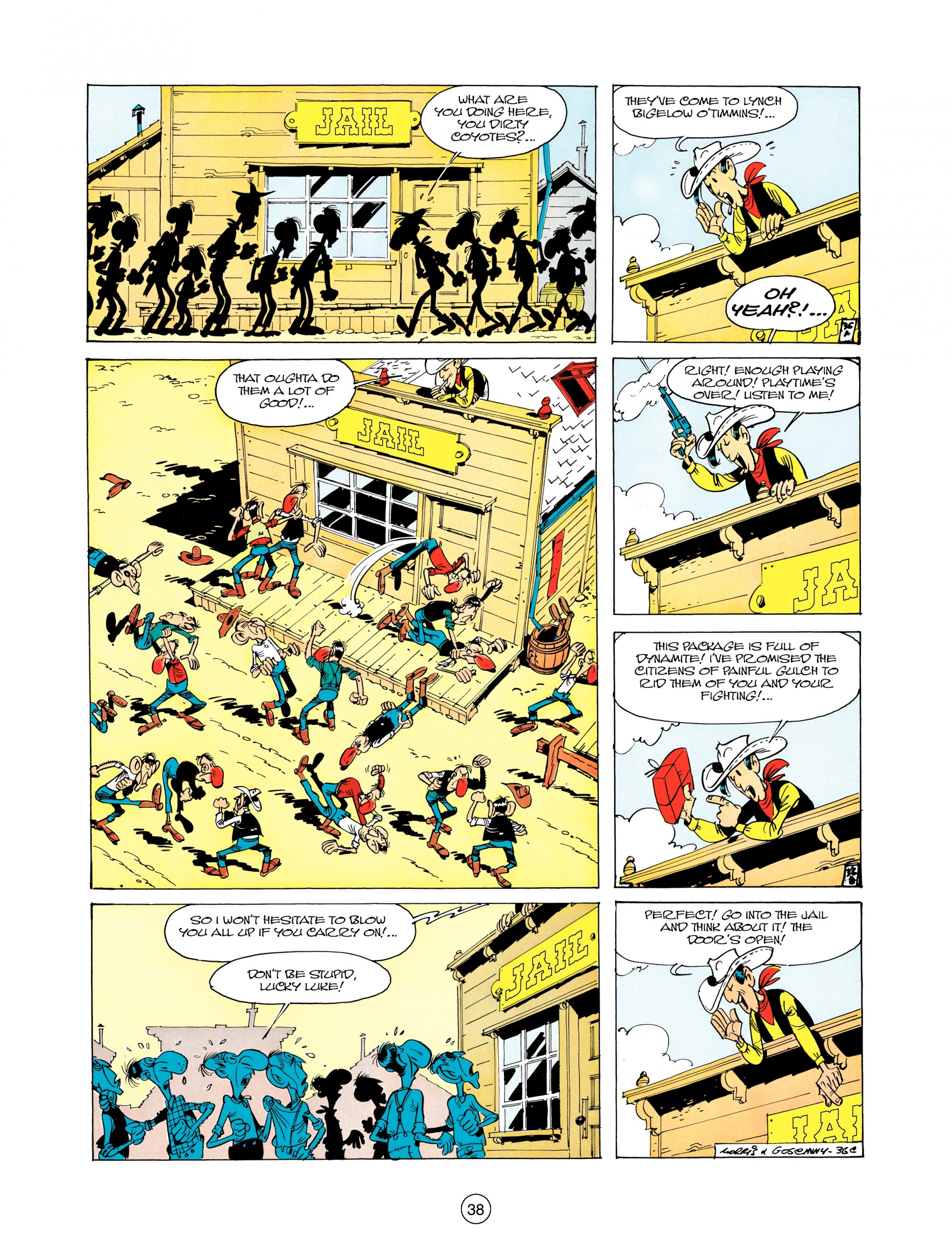 Read online A Lucky Luke Adventure comic -  Issue #12 - 38