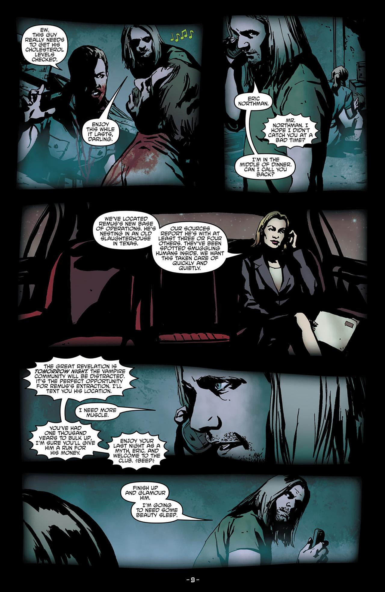 Read online True Blood (2012) comic -  Issue #2 - 11