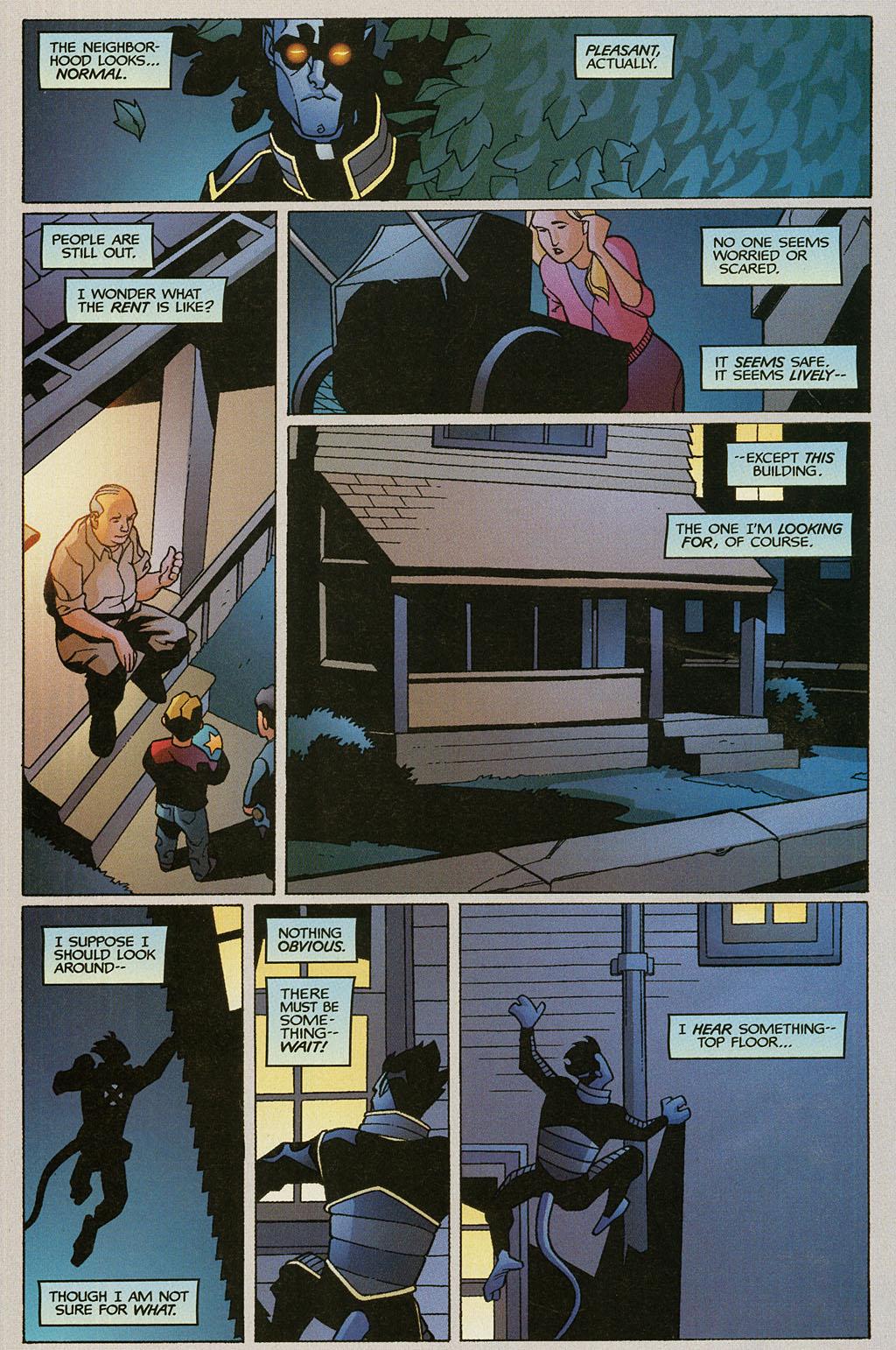 Read online Nightcrawler (2002) comic -  Issue #1 - 22